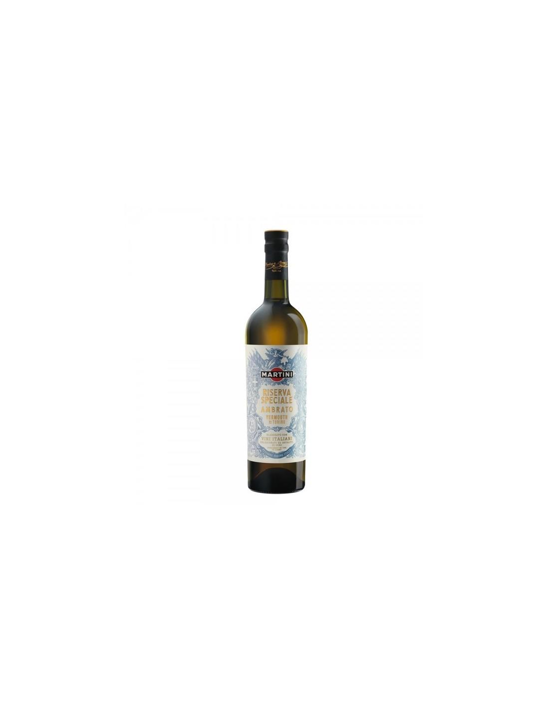 Vermut Martini Ambrato, 18% alc., 0.75L, Italia