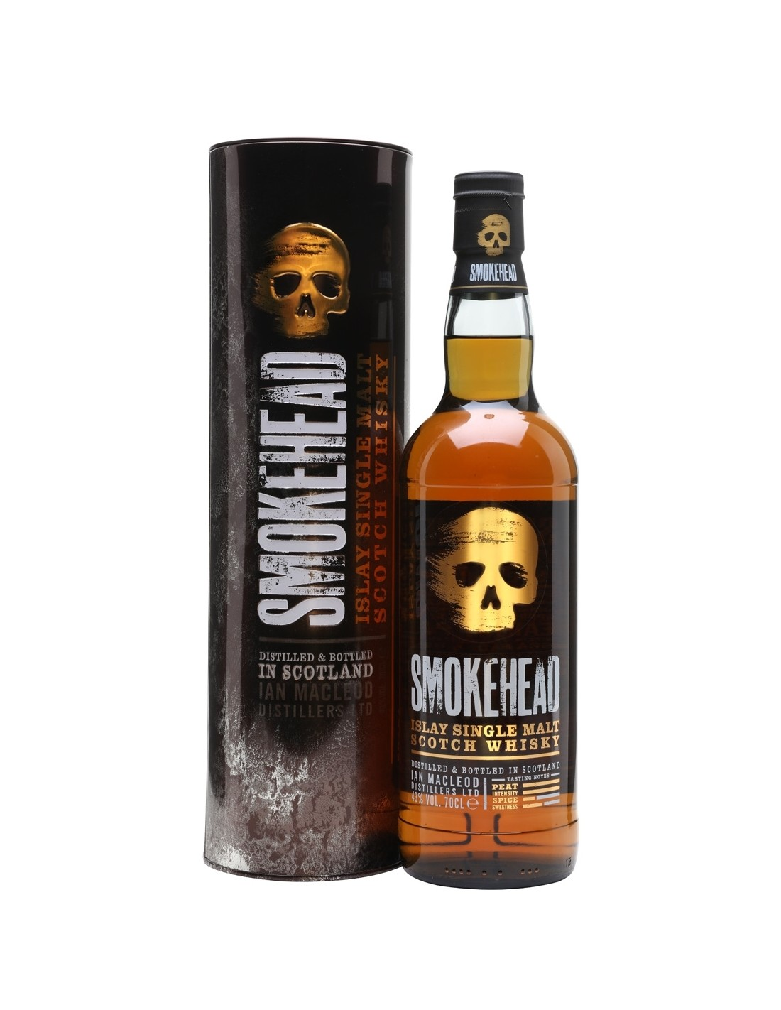 Whisky Smokehead Peated, 43% alc., 0.7L, Scotia