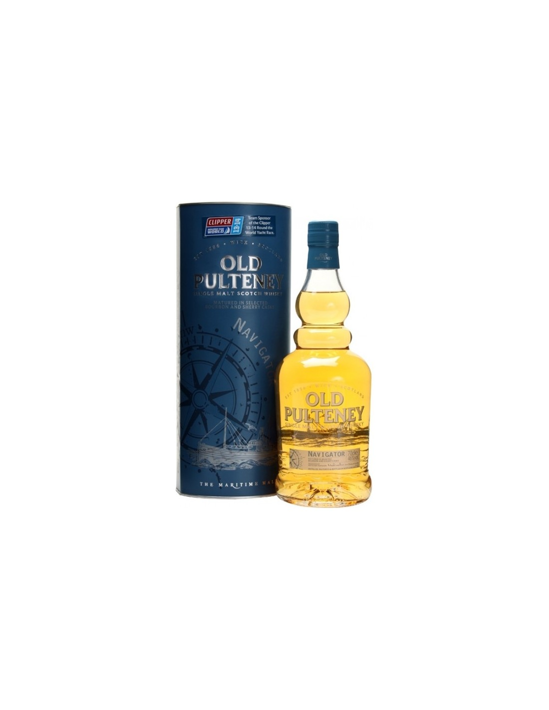 Whisky Old Pulteney Navigator, 46% alc., 0.7L, Scotia