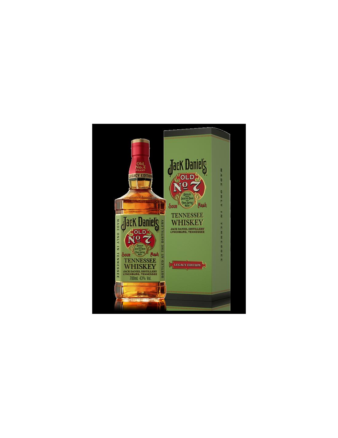 Whisky Bourbon Jack Daniel's No.7 Legacy Edition, 43% alc., 0.7L