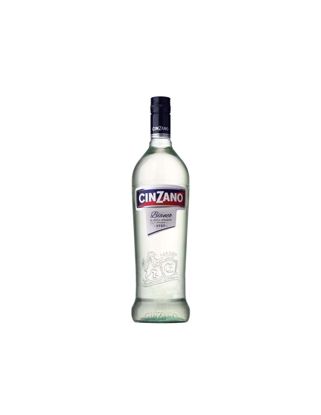 Vermut Cinzano Bianco, 15% alc., 0.7L, Italia