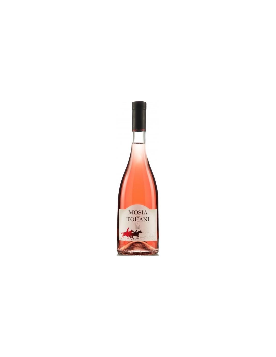Vin roze demisec, Busuioaca de Bohotin, Tohani Dealu Mare, 0.75L, 13% alc., Romania