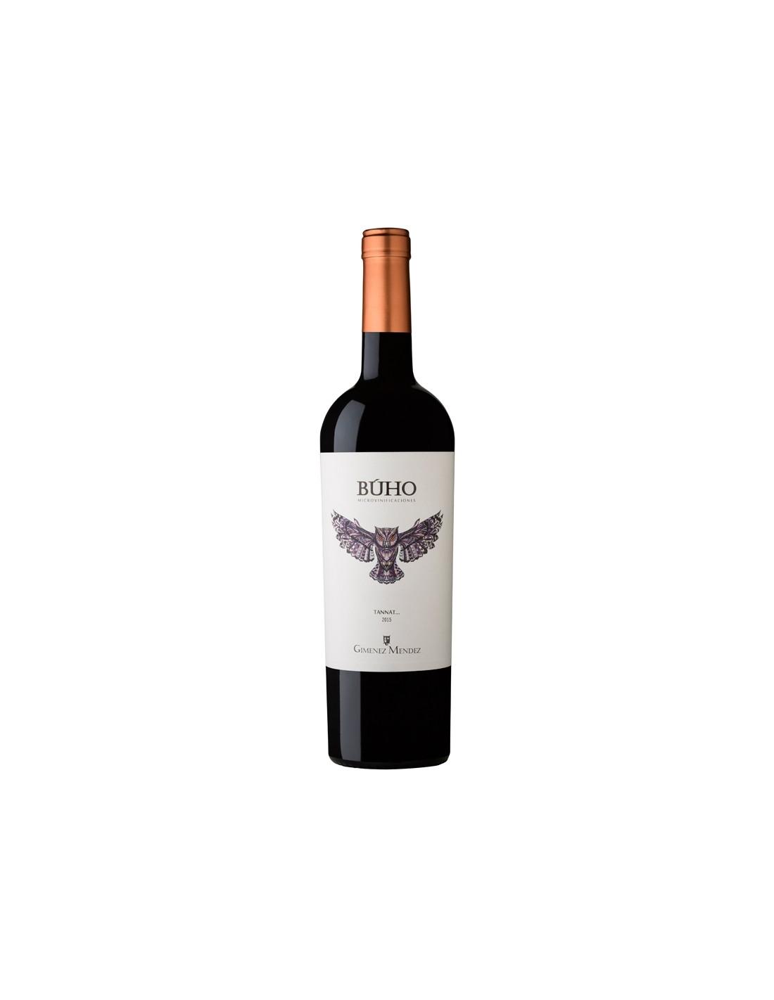 Vin rosu, Tannat, Buho Microvinificaciones, 0.75L, 14.5% alc., Uruguay
