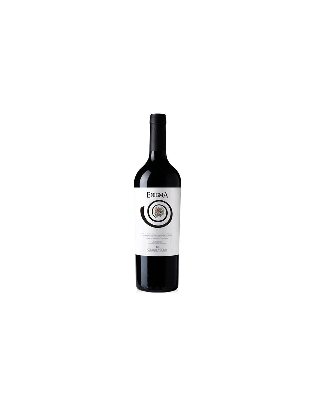 Vin rosu, Cupaj, Gimenez Mendez Enigma Multivarietal, 0.75L, 14.2% alc., Uruguay