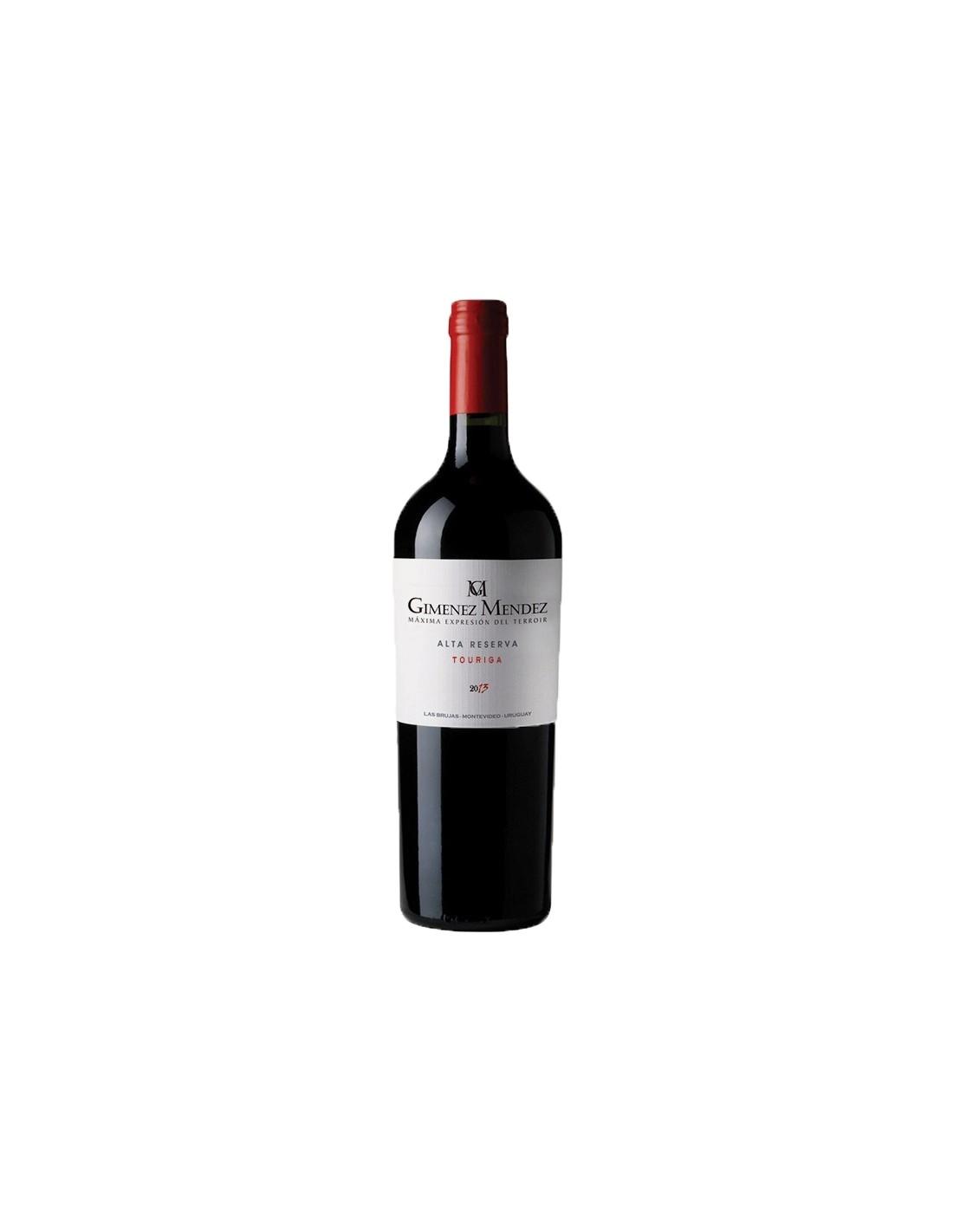 Vin rosu, Touriga, Gimenez Mendez Alta Reserva, 0.75L, 14% alc., Uruguay