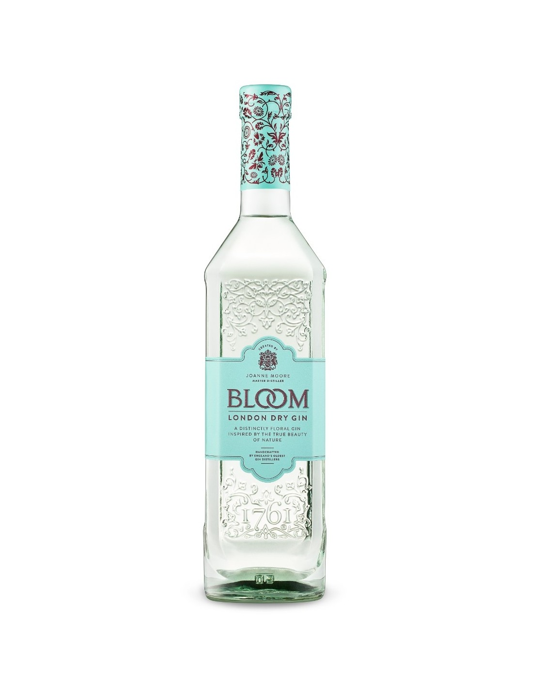 Gin Bloom 40% alc., 0.7L, Anglia