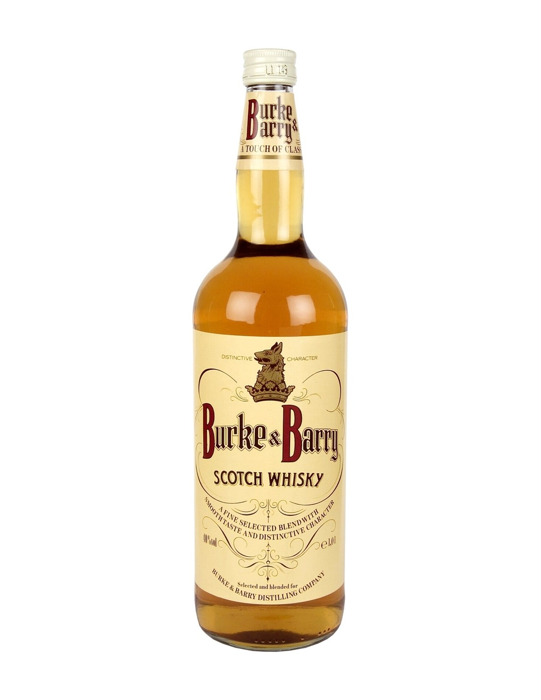 Whisky Burke & Barry, 40% alc., 1L, Scotia