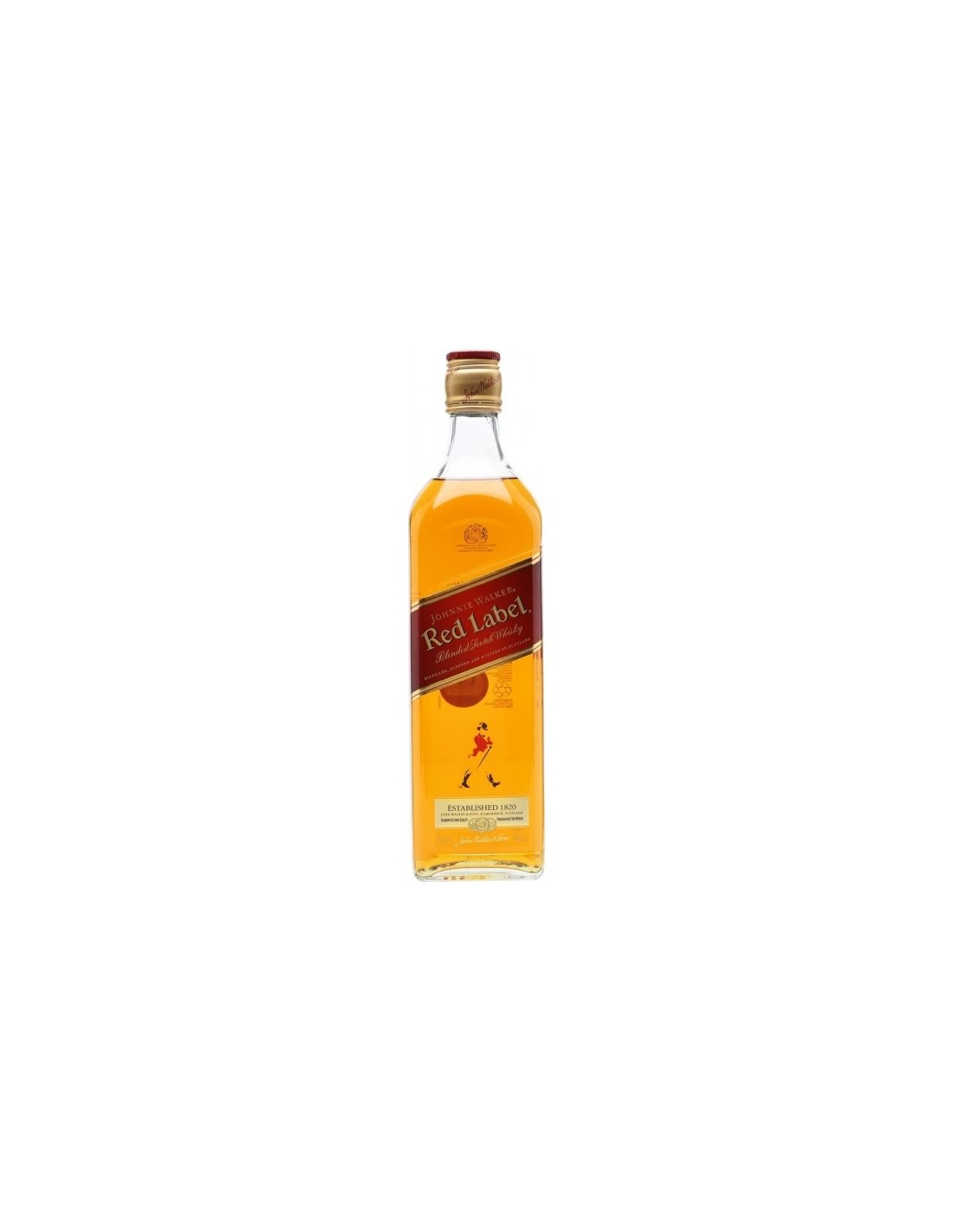 Whisky Johnnie Walker Red Label, 40% alc., 0.5L, Scotia