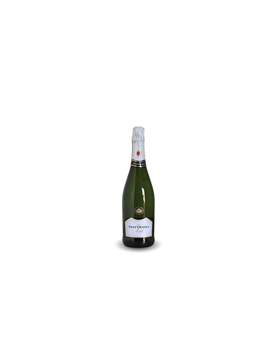 Vin spumant alb, Casa Sant'Orsola Cuvee, 0.75L, 10% alc., Italia