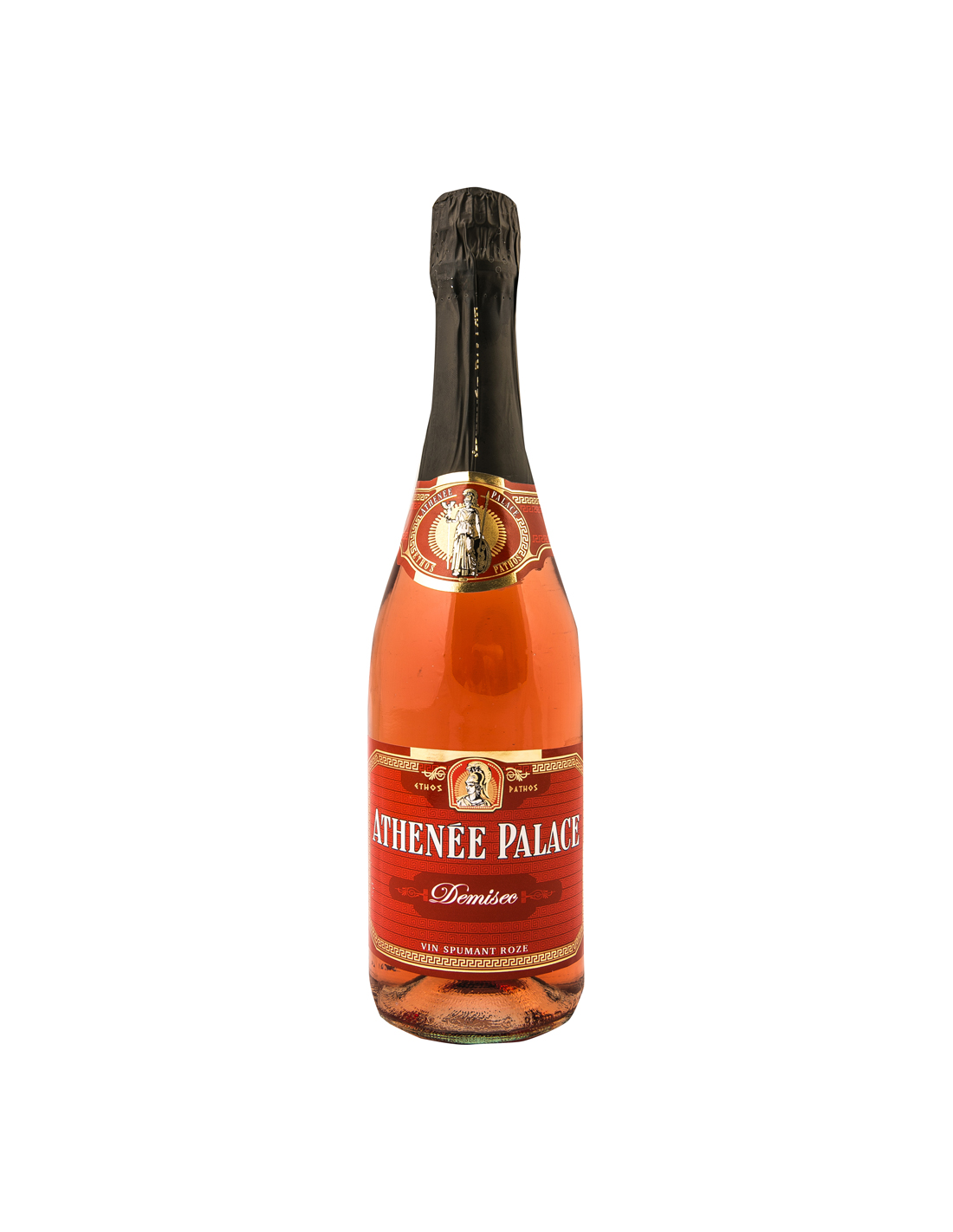 Vin spumant roze demisec, Athenee Palace, 0.75L, 10% alc., Romania