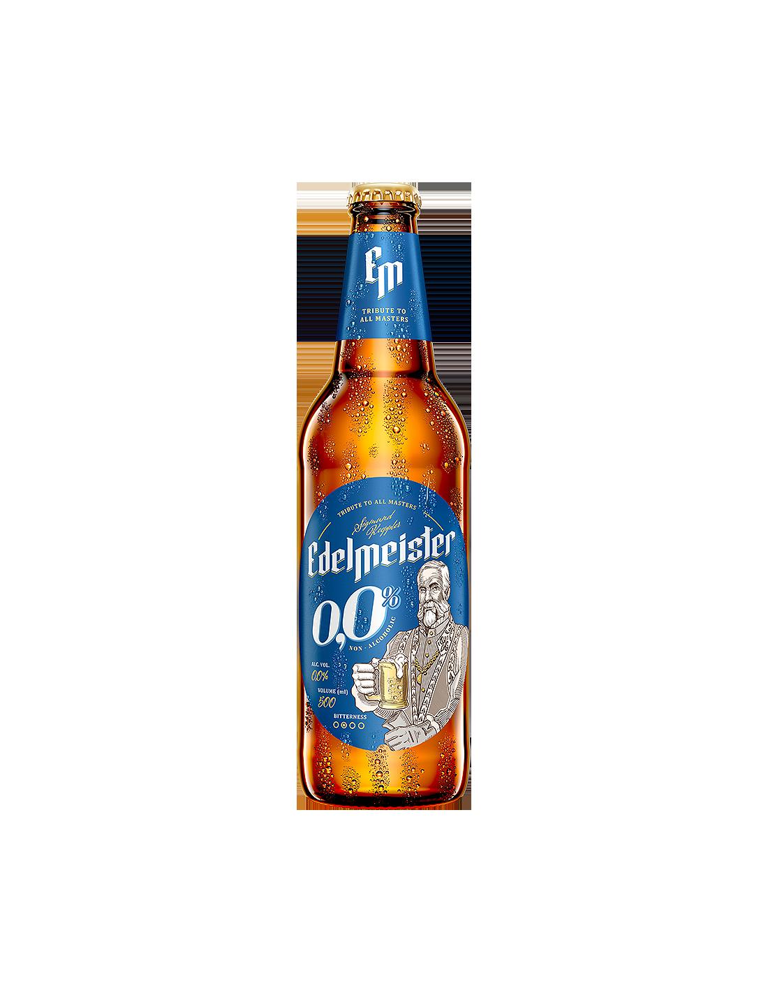 Bere Edelmeister Fara Alcool 0.5l