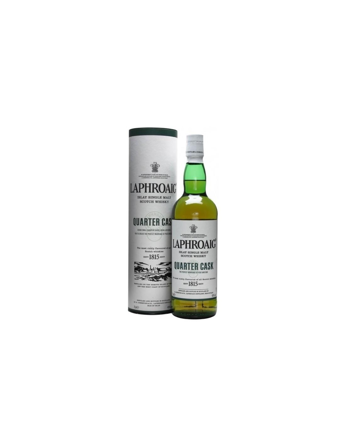 Whisky Laphroaig Quarter Cask, 48% alc., 0.7L, Scotia