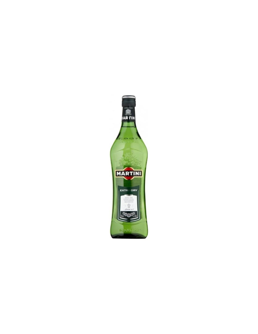 Aperitiv Martini extra dry, 15% alc., 1L, Italia