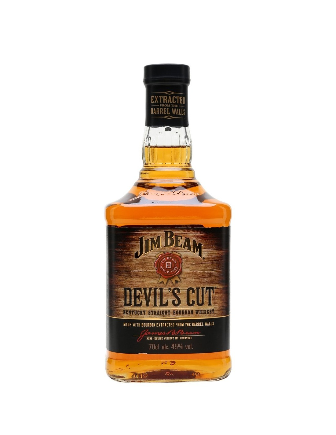 Whisky Bourbon Jim Beam Devil's Cut, 45% alc., 0.7L