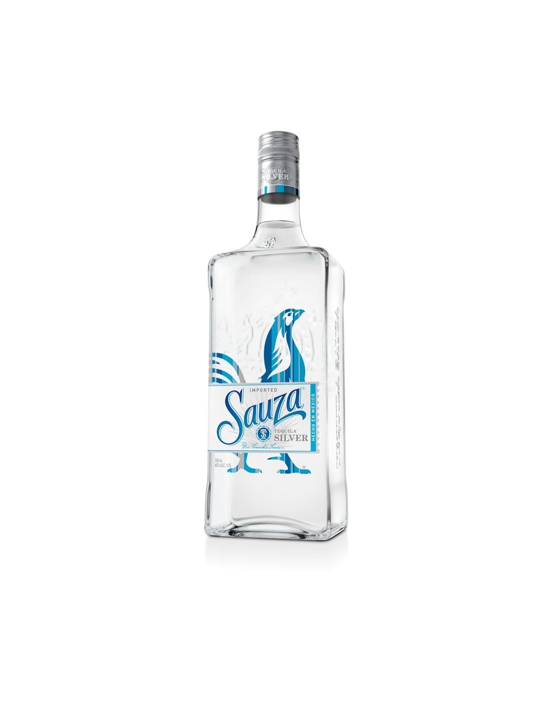 Tequila alba Sauza Silver 0.7L, 38% alc., Mexic