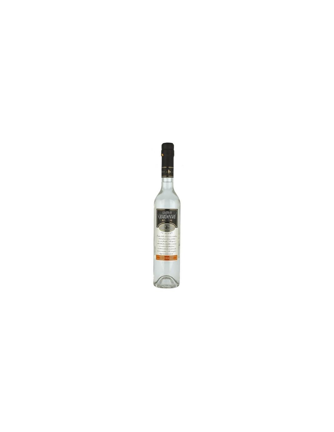 Bautura traditionala Grappa Chardonnay, 40% alc., 0.2L, Italia