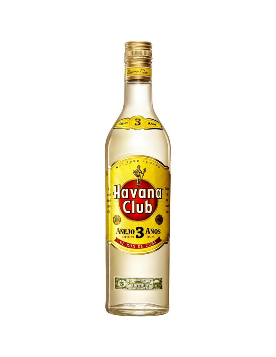 Rom Havana Club, 3 ani, 40% alc., 0.7L, Cuba
