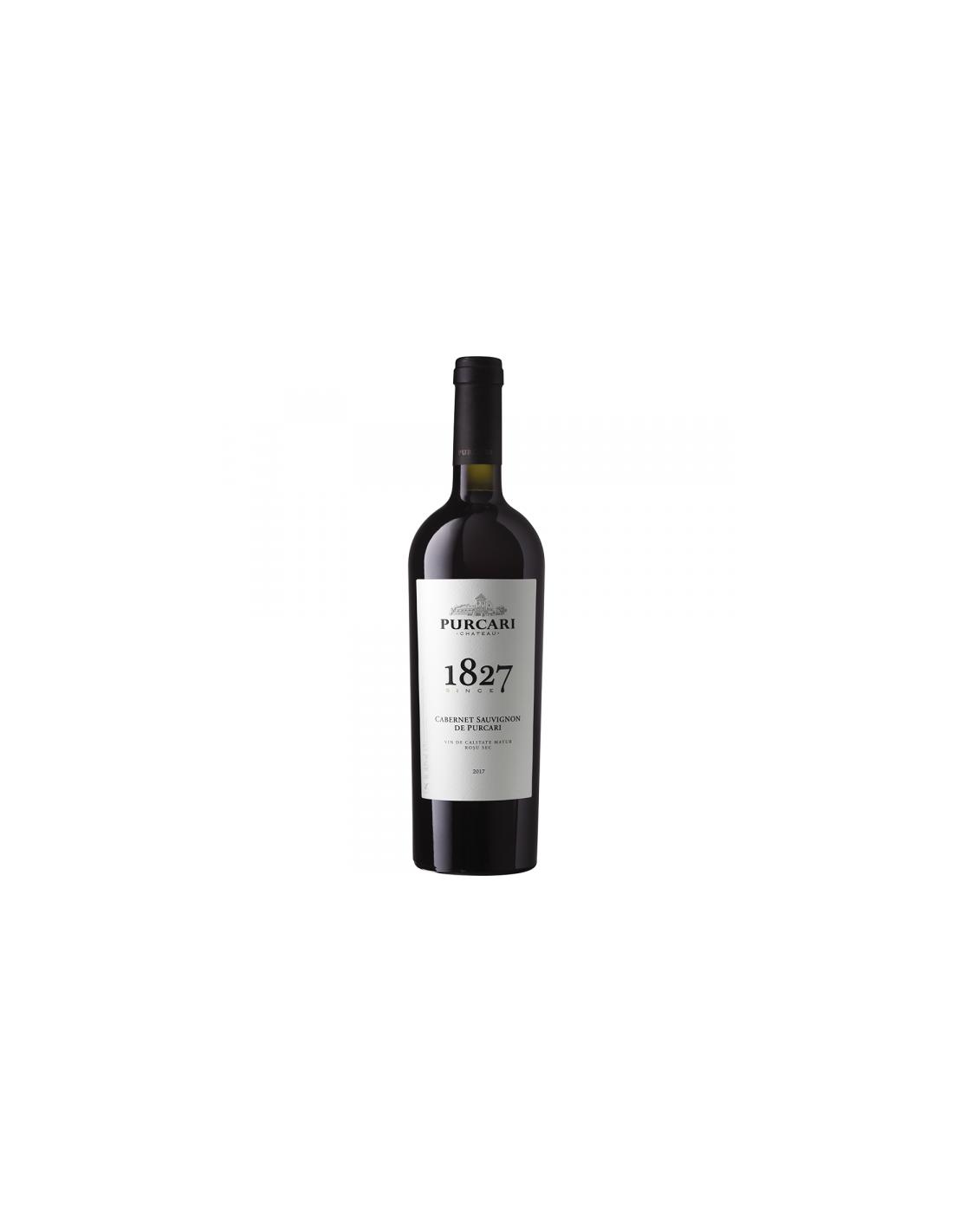 Vin rosu sec, Cabernet Sauvignon, Purcari Stefan Voda, 0.75L, 13.5% alc., Republica Moldova