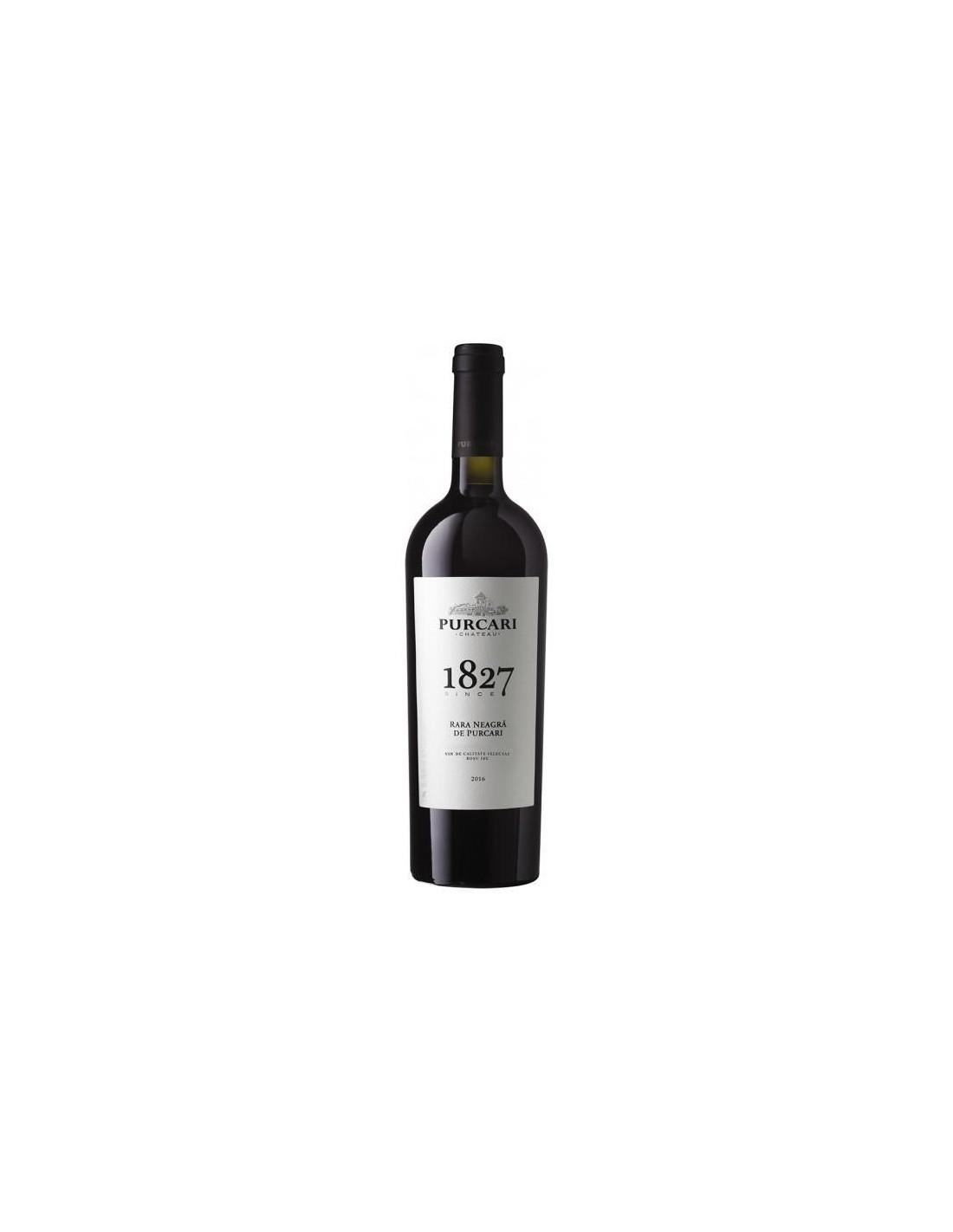 Vin rosu sec, Rara Neagra, Purcari Stefan Voda, 0.75L, 12.5% alc., Republica Moldova
