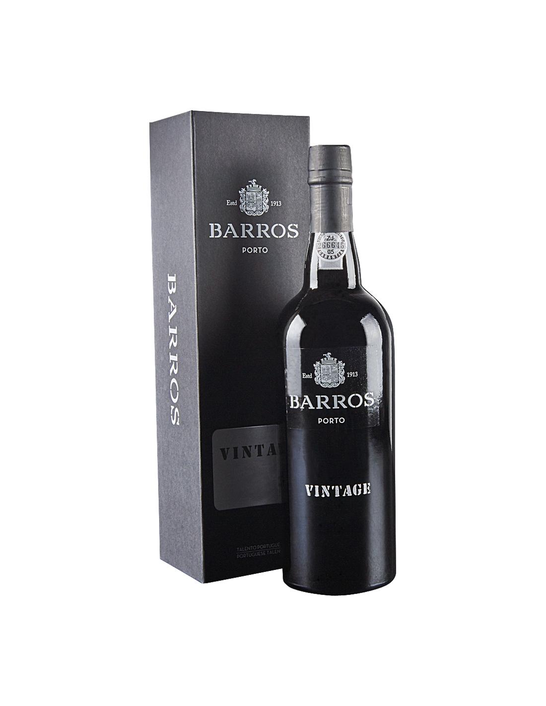 Vin porto rosu, Cupaj, Barros Vintage, 1985, 0.75L, 20% alc., Portugalia