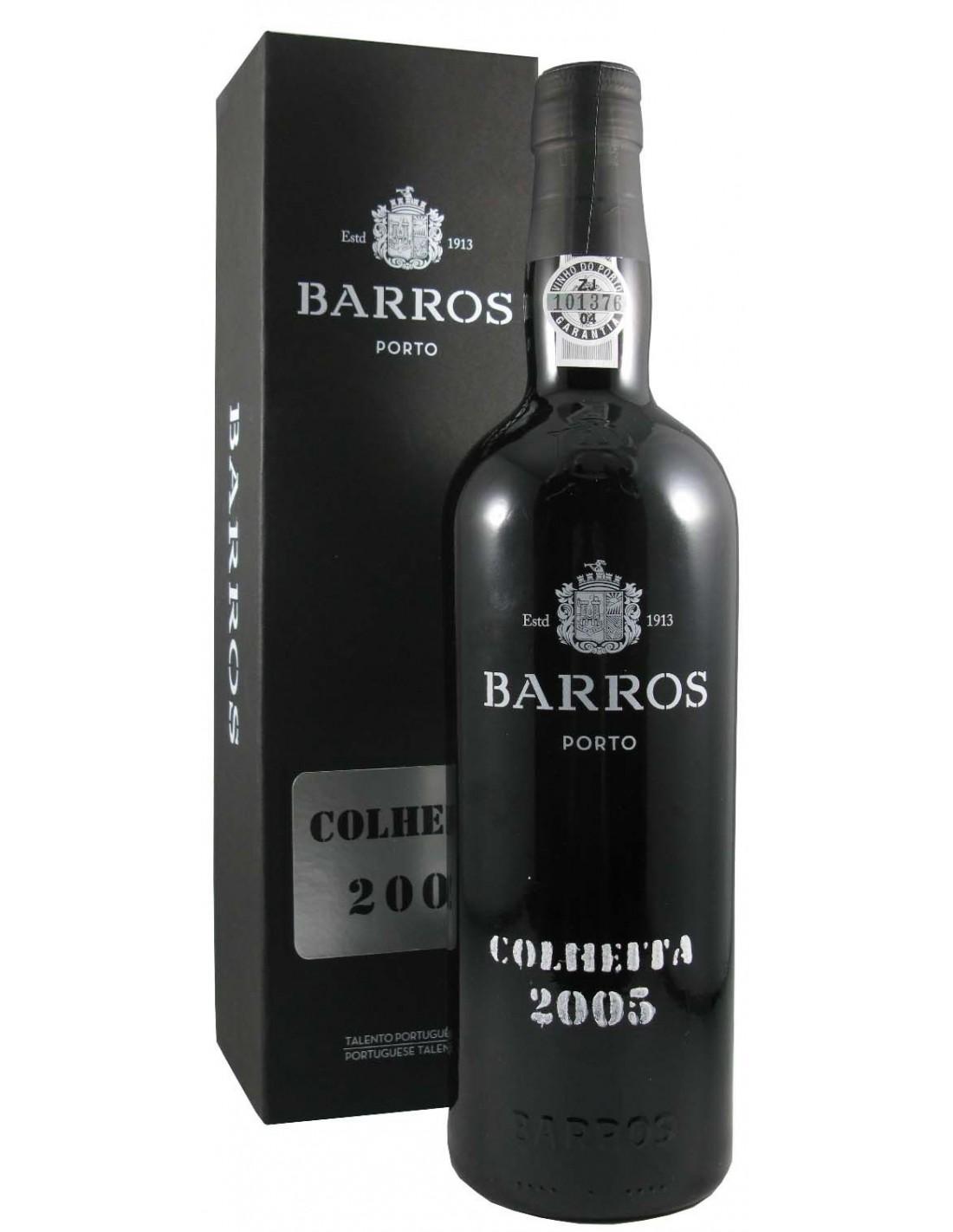 Vin porto rosu, Cupaj, Barros Colheita, 2005, 0.75L, 20% alc., Portugalia