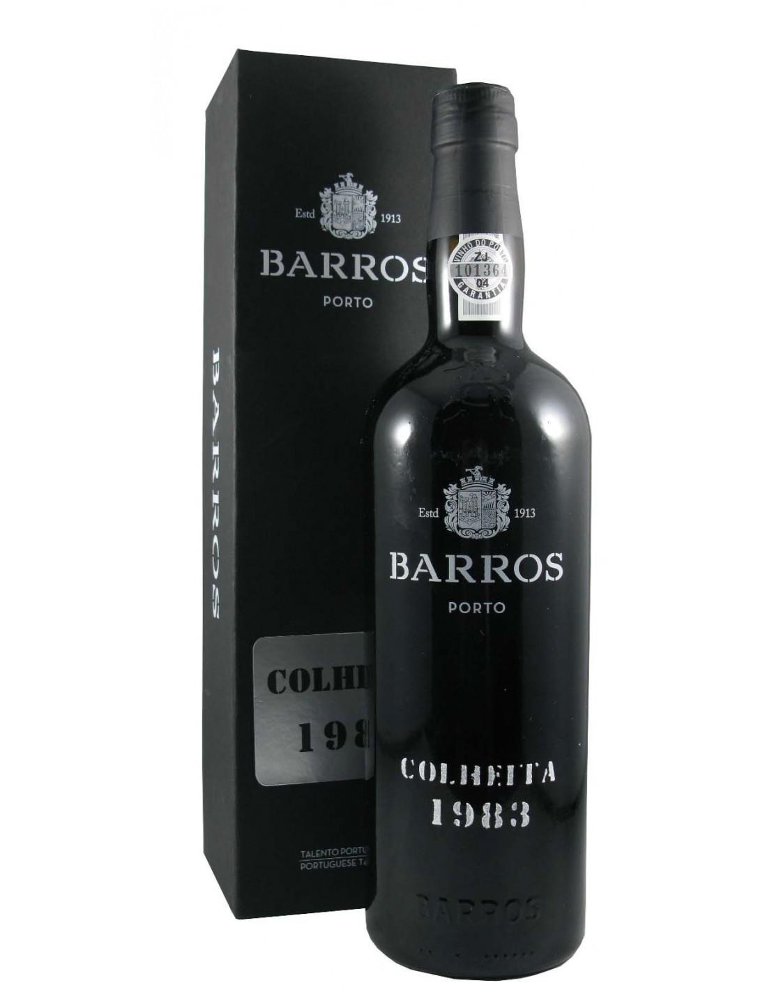 Vin porto rosu, Cupaj, Barros Colheita, 1983, 0.75L, 20% alc., Portugalia