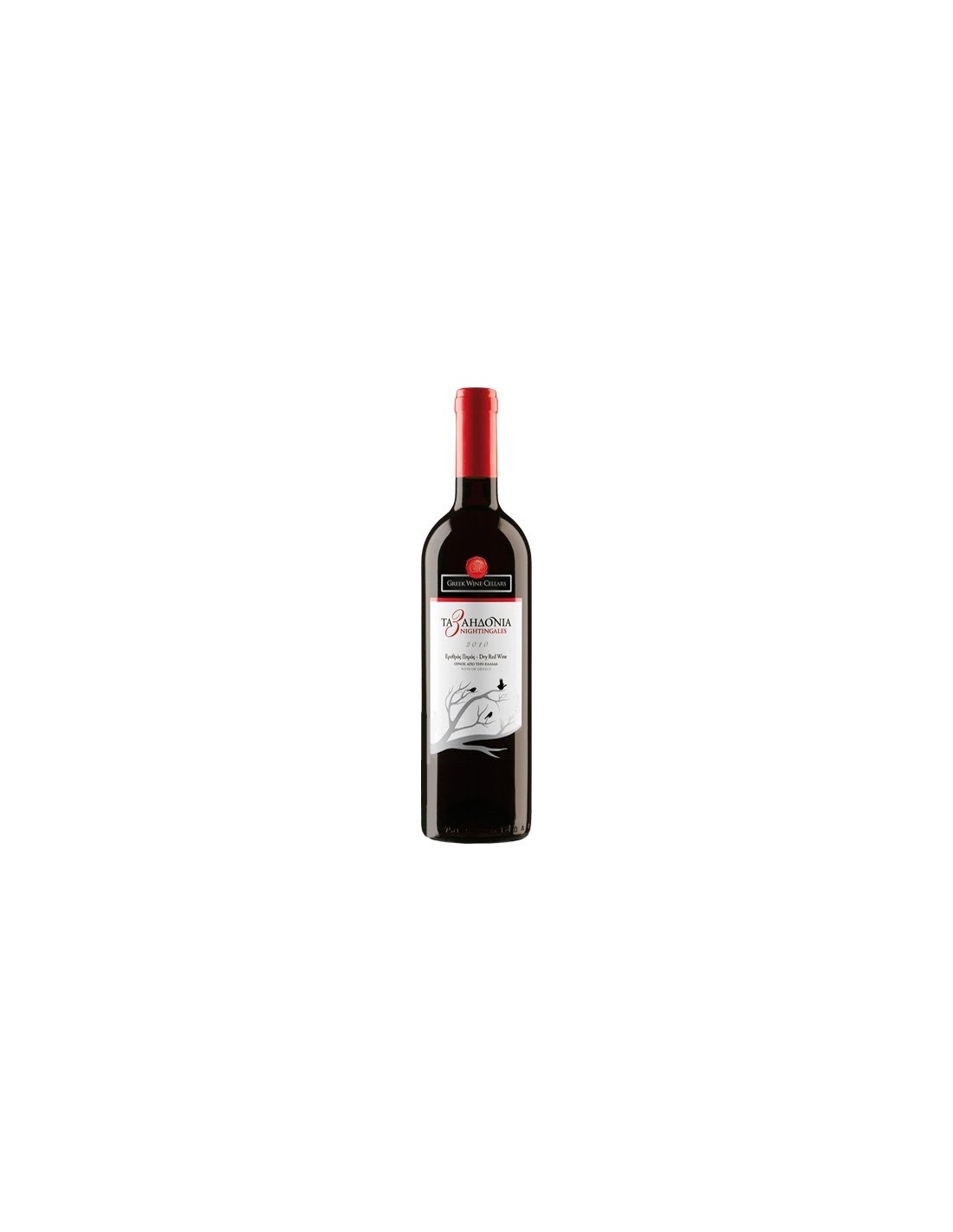 Vin rosu, Cupaj, The 3nightingales Nemea, 0.75L, Grecia
