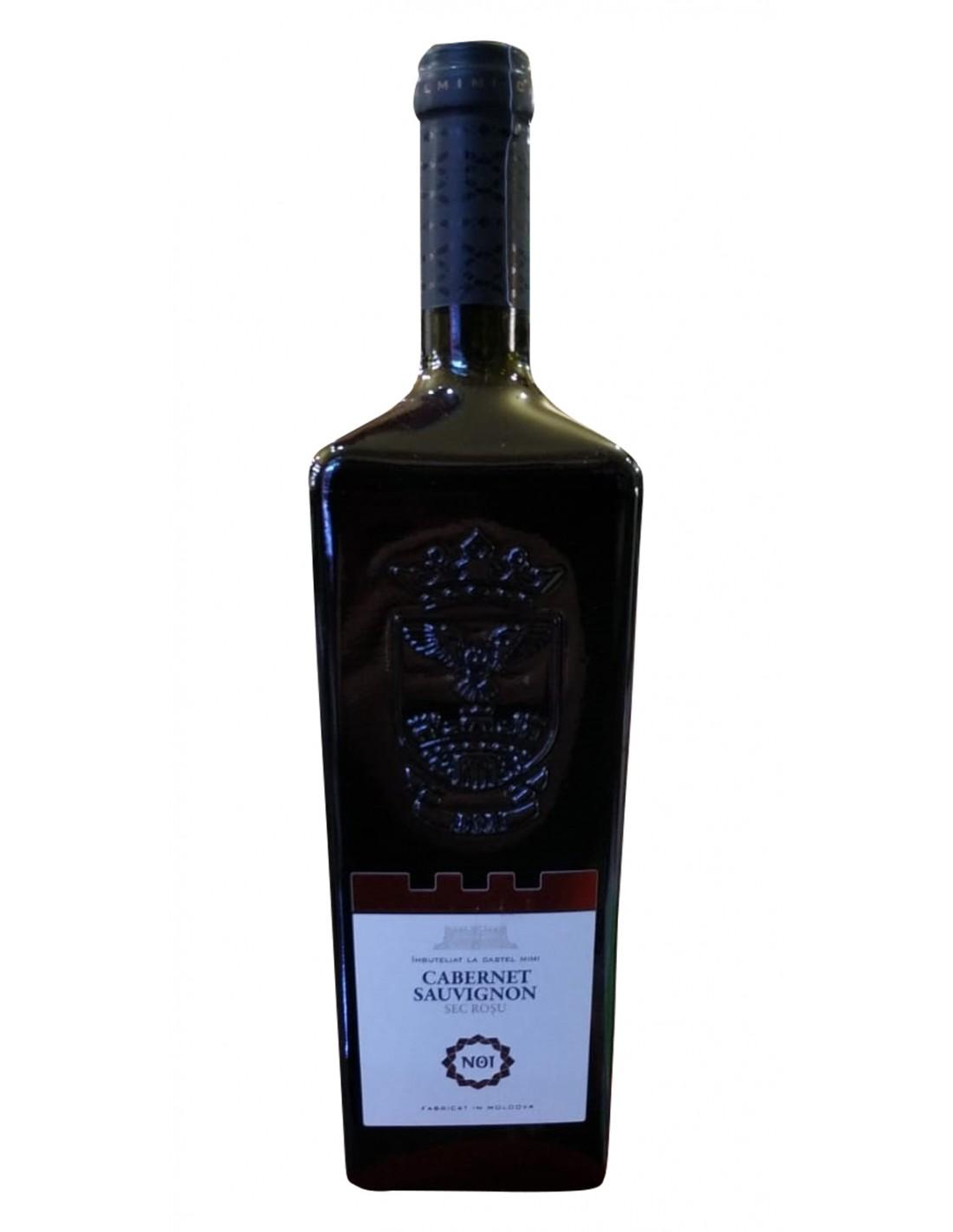 Vin rosu sec, Cabernet Sauvignon, Noi, 0.75L, 14% alc., Republica Moldova