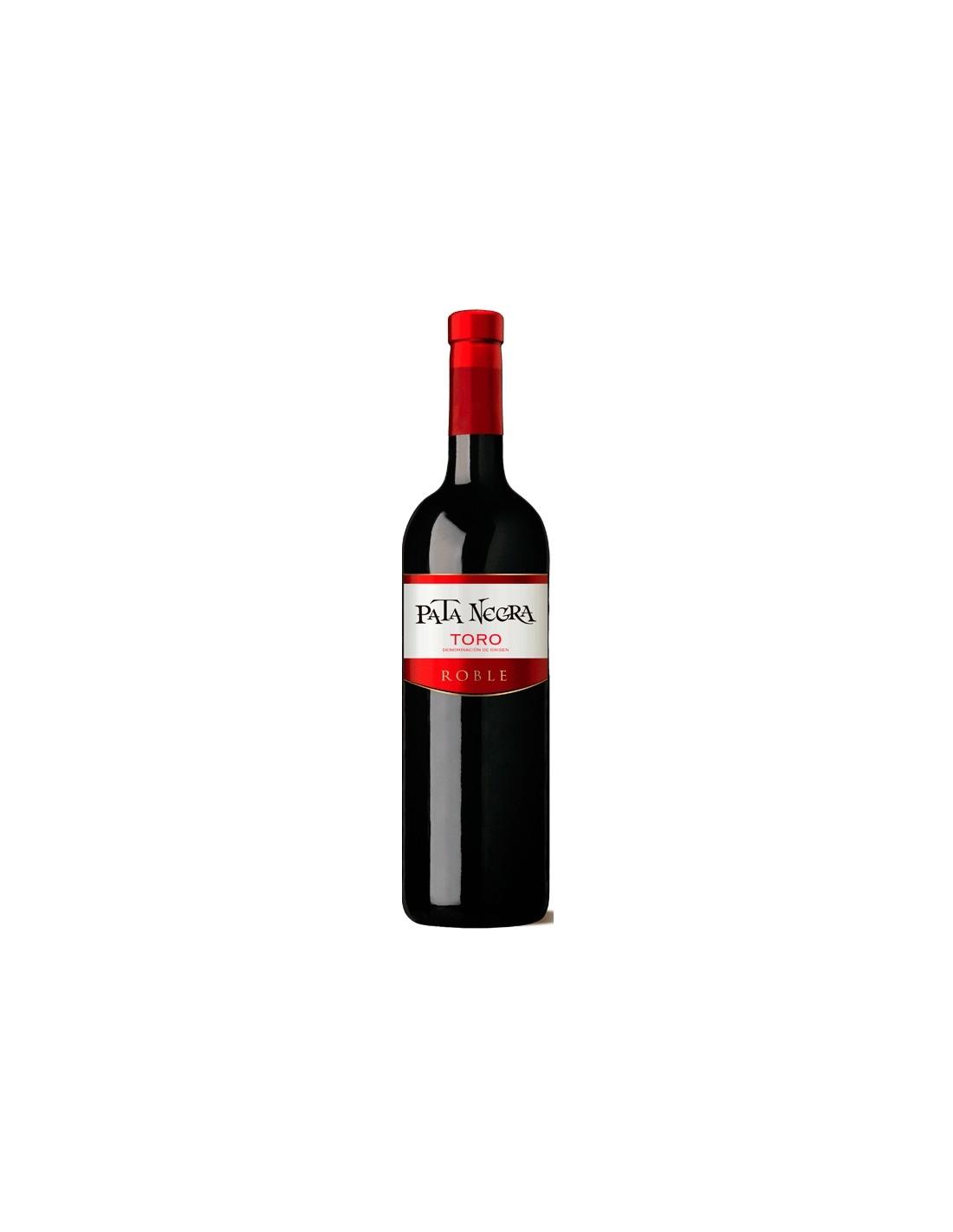 Vin rosu, Tinta de Toro, Pata Negra, 0.75L, Spania