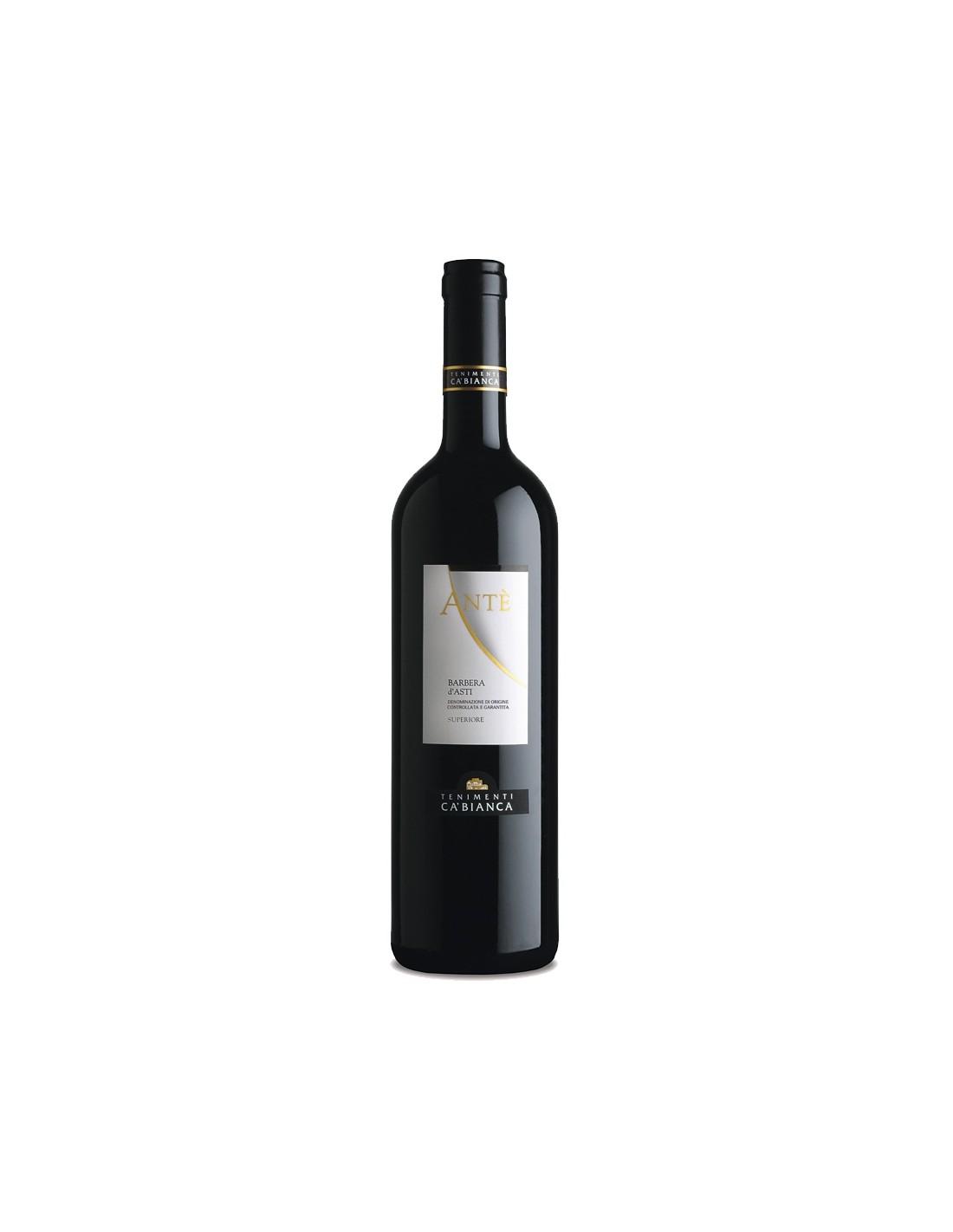 Vin rosu, Barbera, Tenimenti Ca' Bianca Anté, 0.75L, Italia