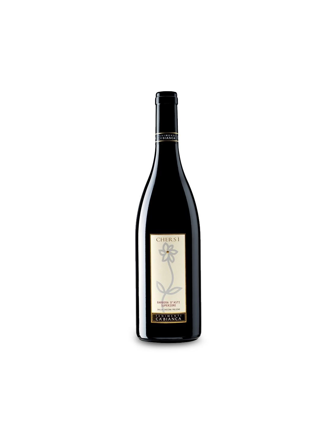Vin rosu Tenimenti Ca' Bianca Chersi, Barbera D'asti 0.75L, 14% alc., Italia