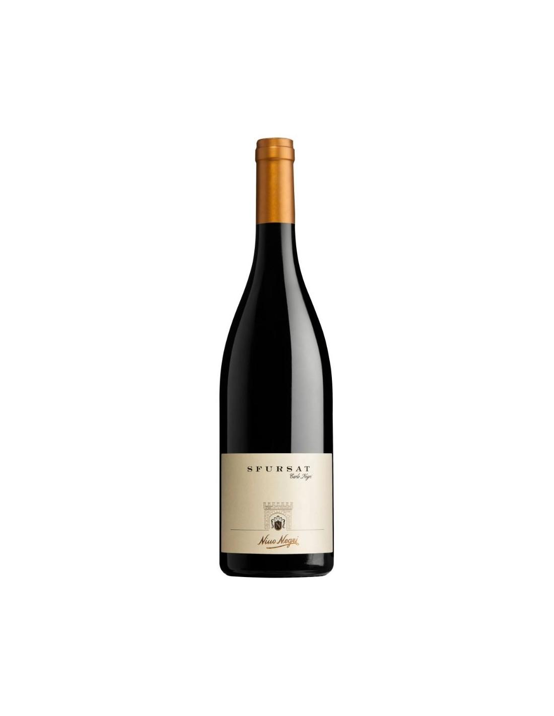 Vin rosu, Nebbiolo, Sfursat 'Carlo Negri' Valtellina, 0.75L, 15% alc., Italia