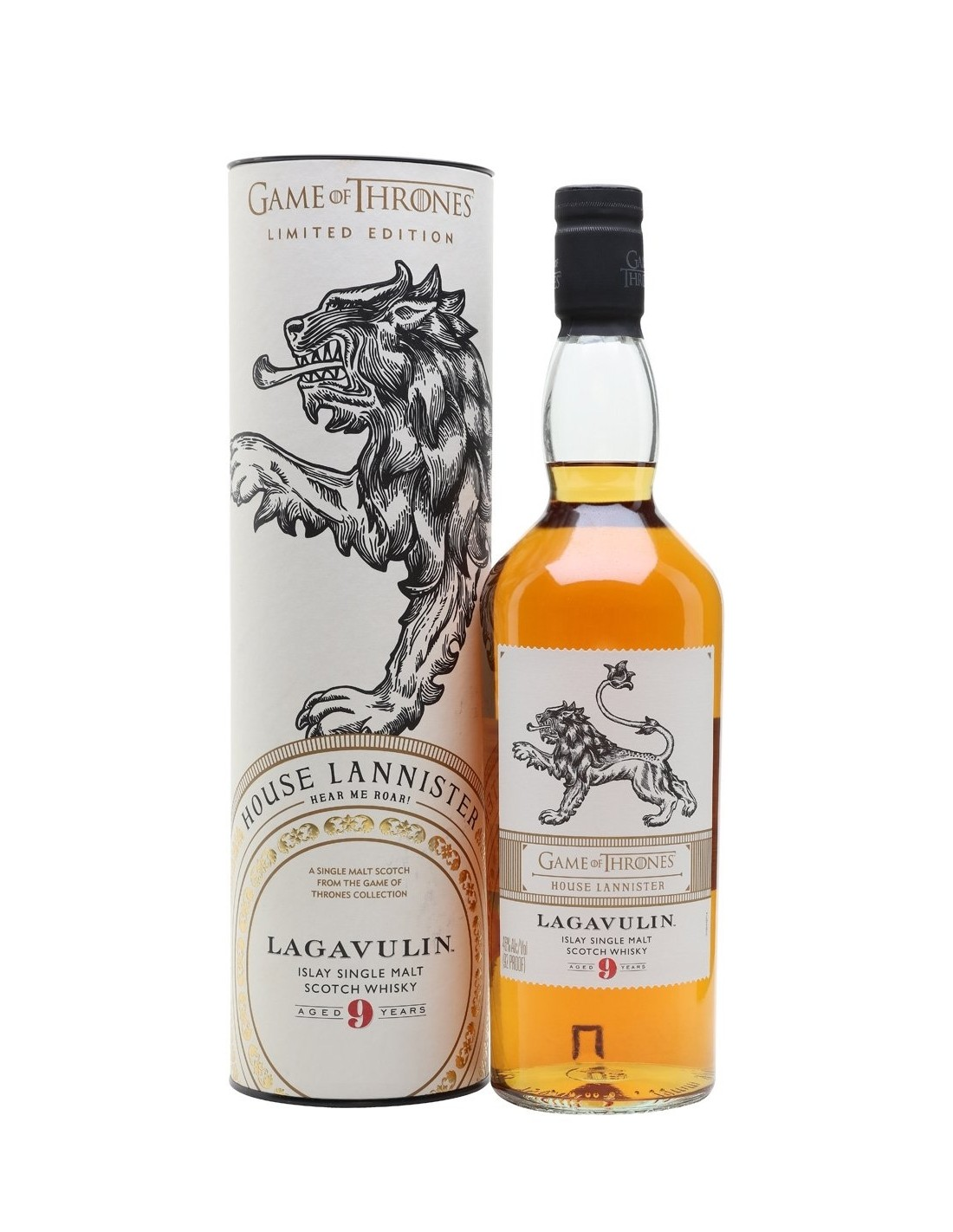 Whisky Lagavulin Game Of Thrones, 9 ani, 46% alc., 0.7L, Scotia
