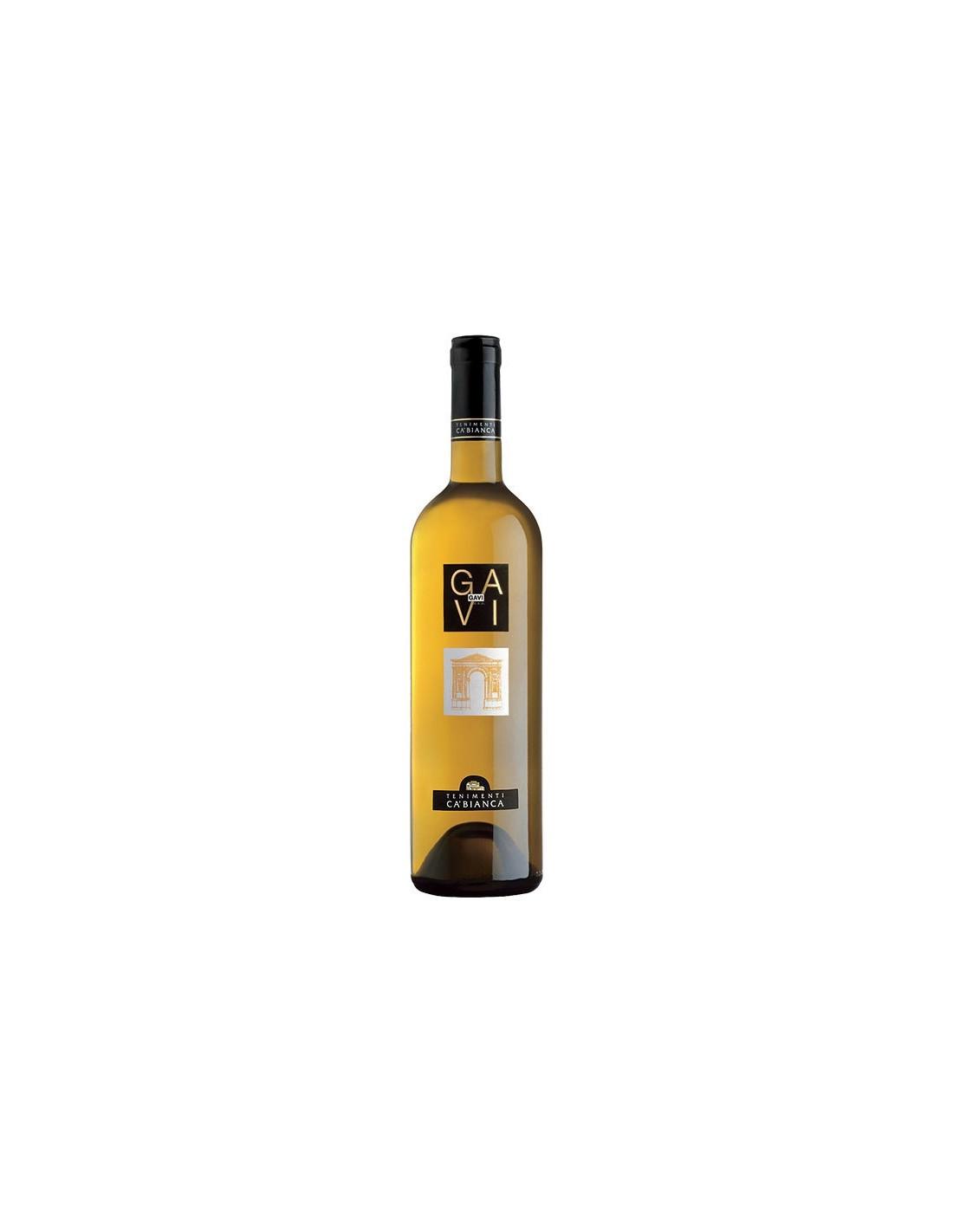 Vin alb, Tenimenti Ca'Bianca Gavi, 0.75L, 12% alc., Italia