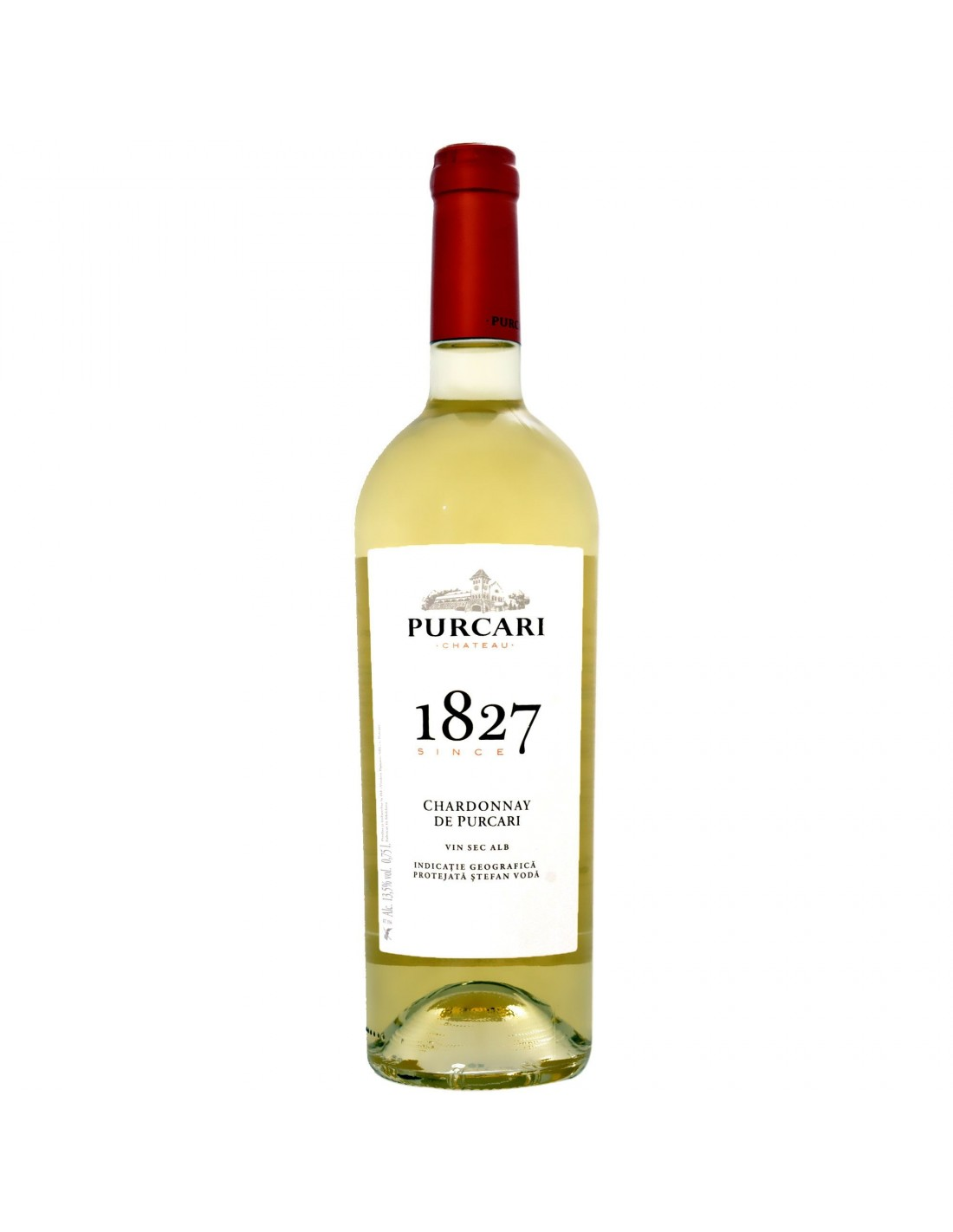 Vin alb sec, Chardonnay, Purcari Stefan Voda, 0.75L, 12% alc., Republica Moldova