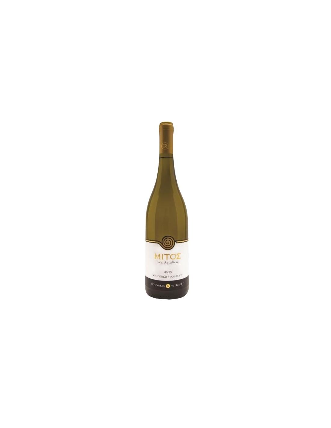 Vin alb, Mitos Rod Viognier, 0.75L, Grecia
