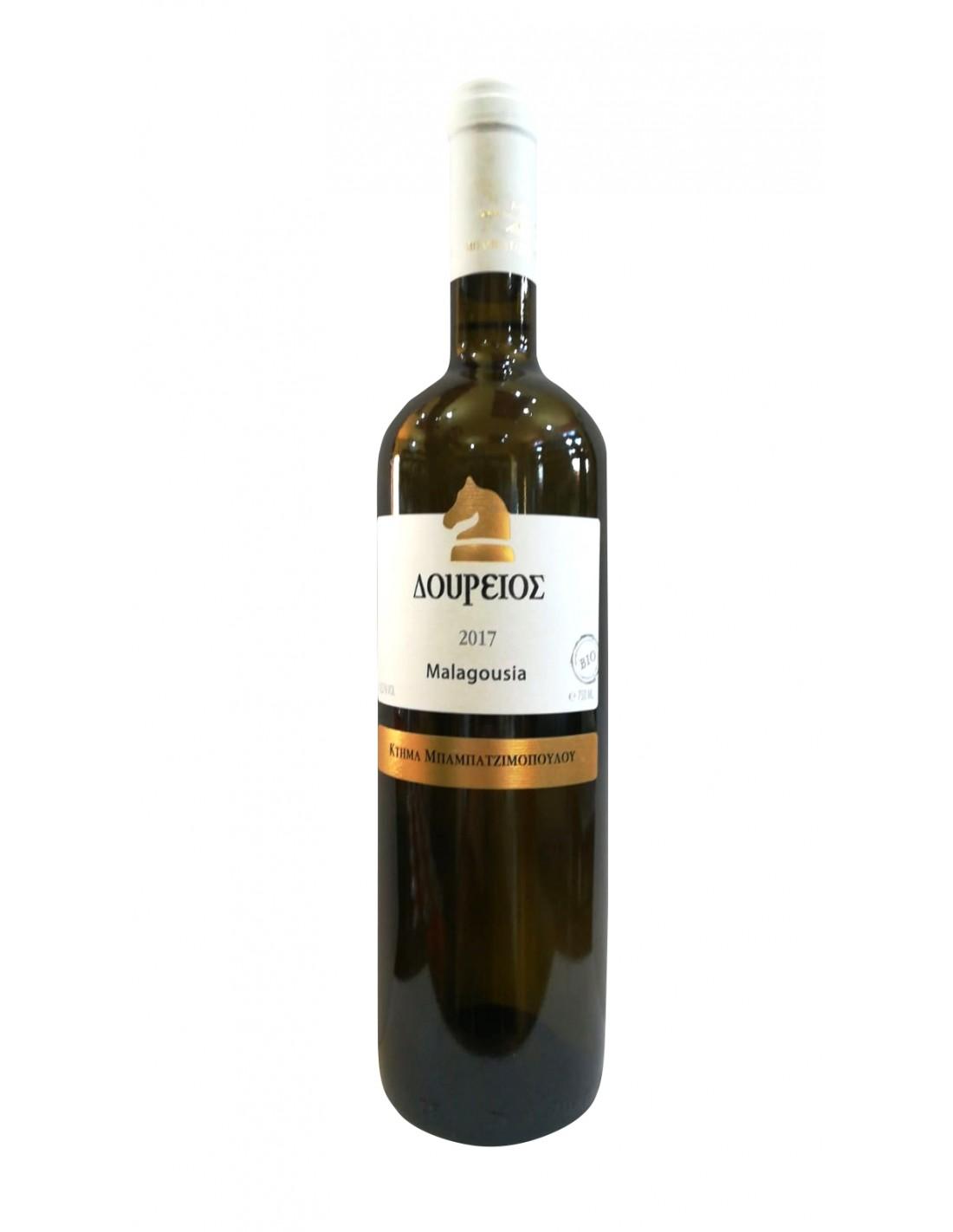 Vin alb sec, Malagousia Dourios si of Vertiskos Thessaloniki, 0.75L, 12% alc., Grecia