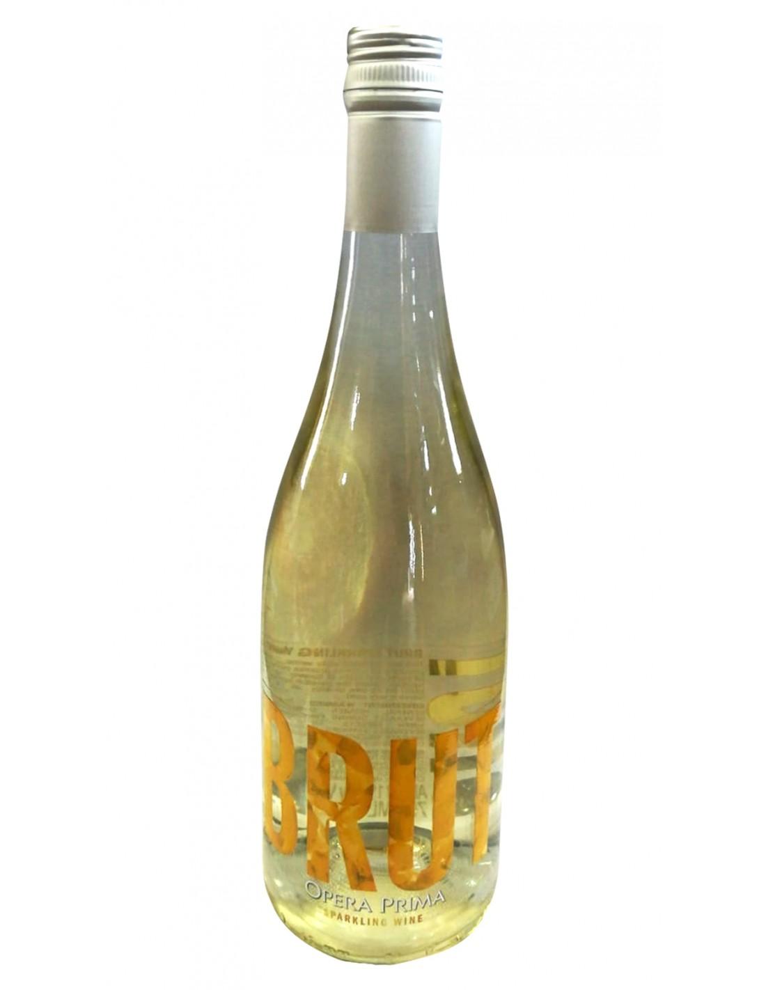 Vin spumant alb, Opera Prima, 0.75L, 11% alc., Spania
