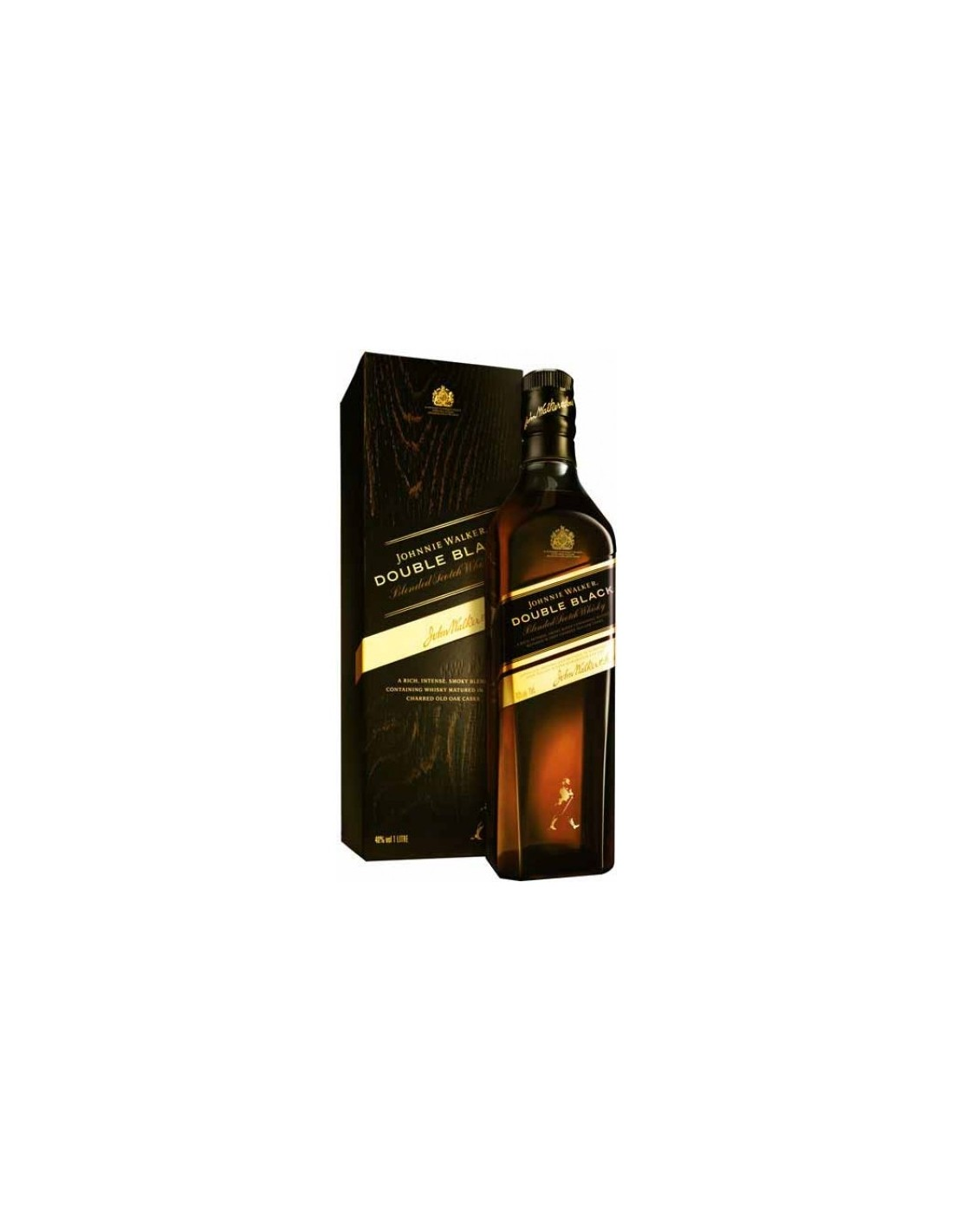 Blended Whisky Johnnie Walker Double Black, 40% alc., 0.7L, Scotia