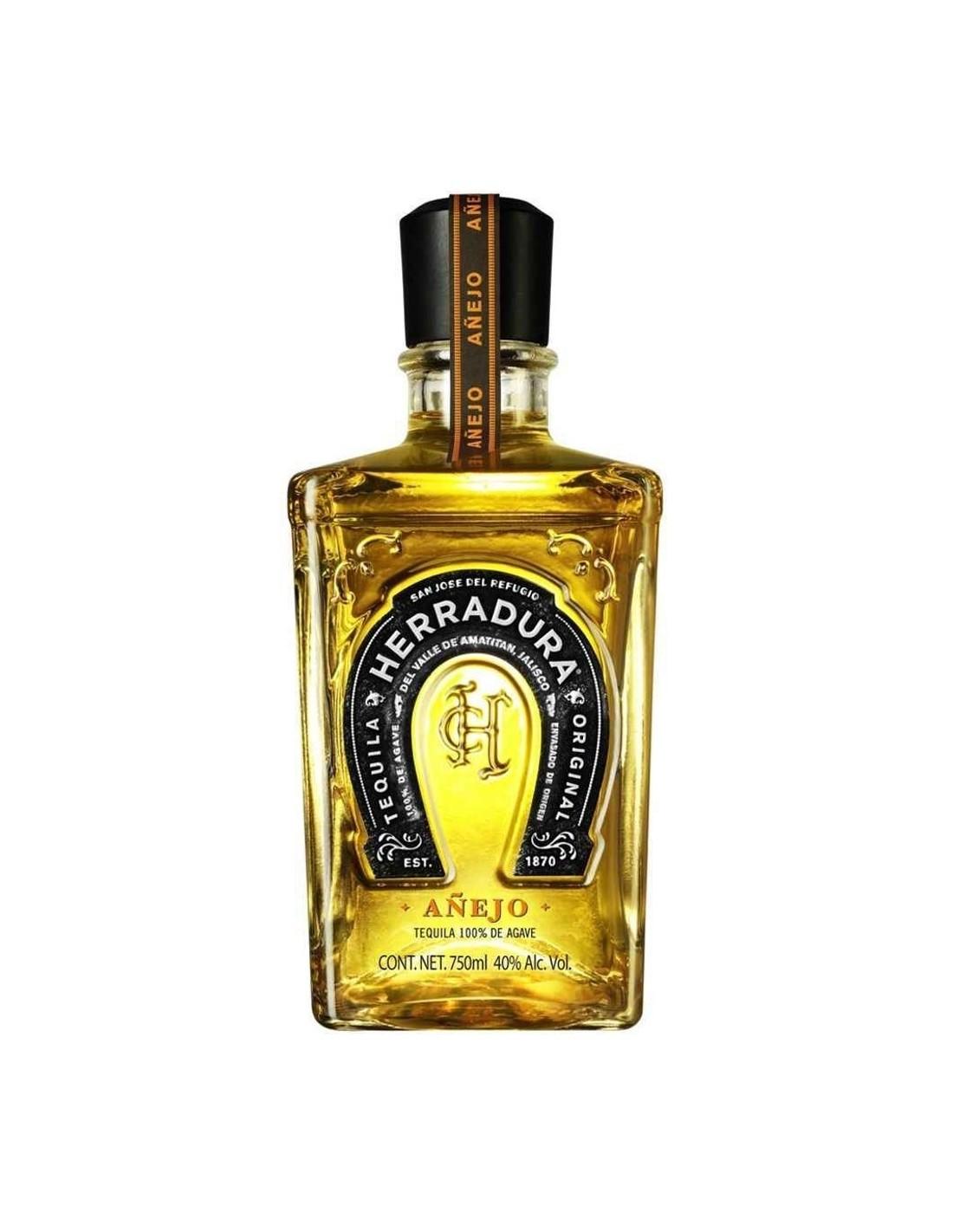 Tequila Herradura Anejo 0.7L, 38% alc., Mexic