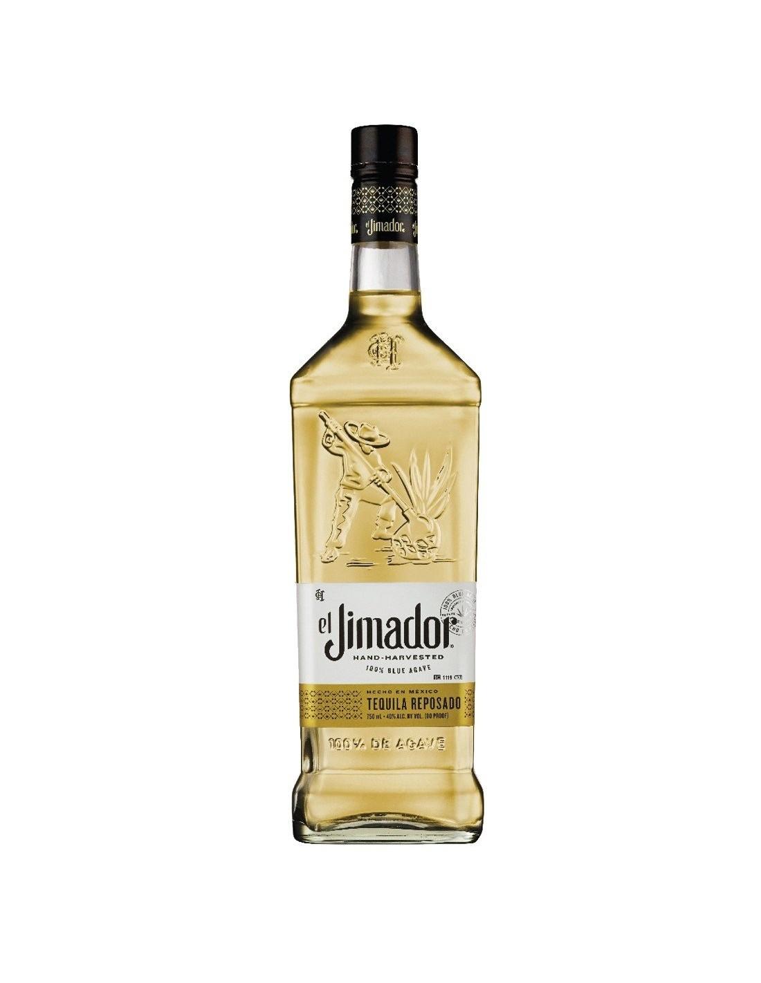 Tequila aurie El Jimador Reposado 0.7L, 38% alc., Mexic