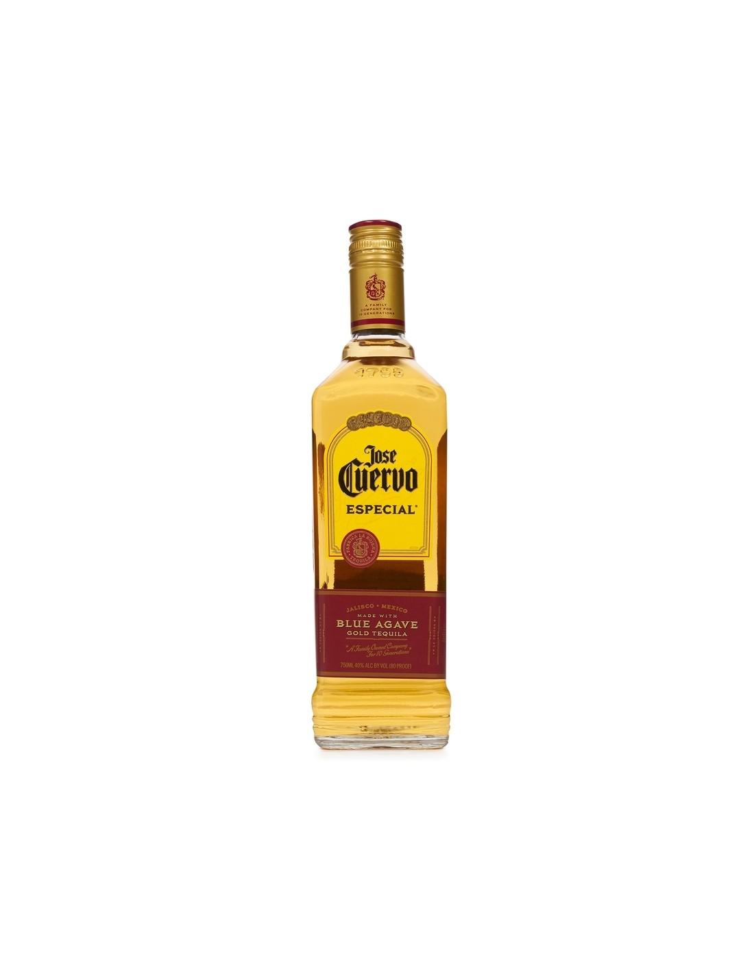 Tequila aurie Jose Cuervo Especial Reposado 0.7L, 38% alc., Mexic