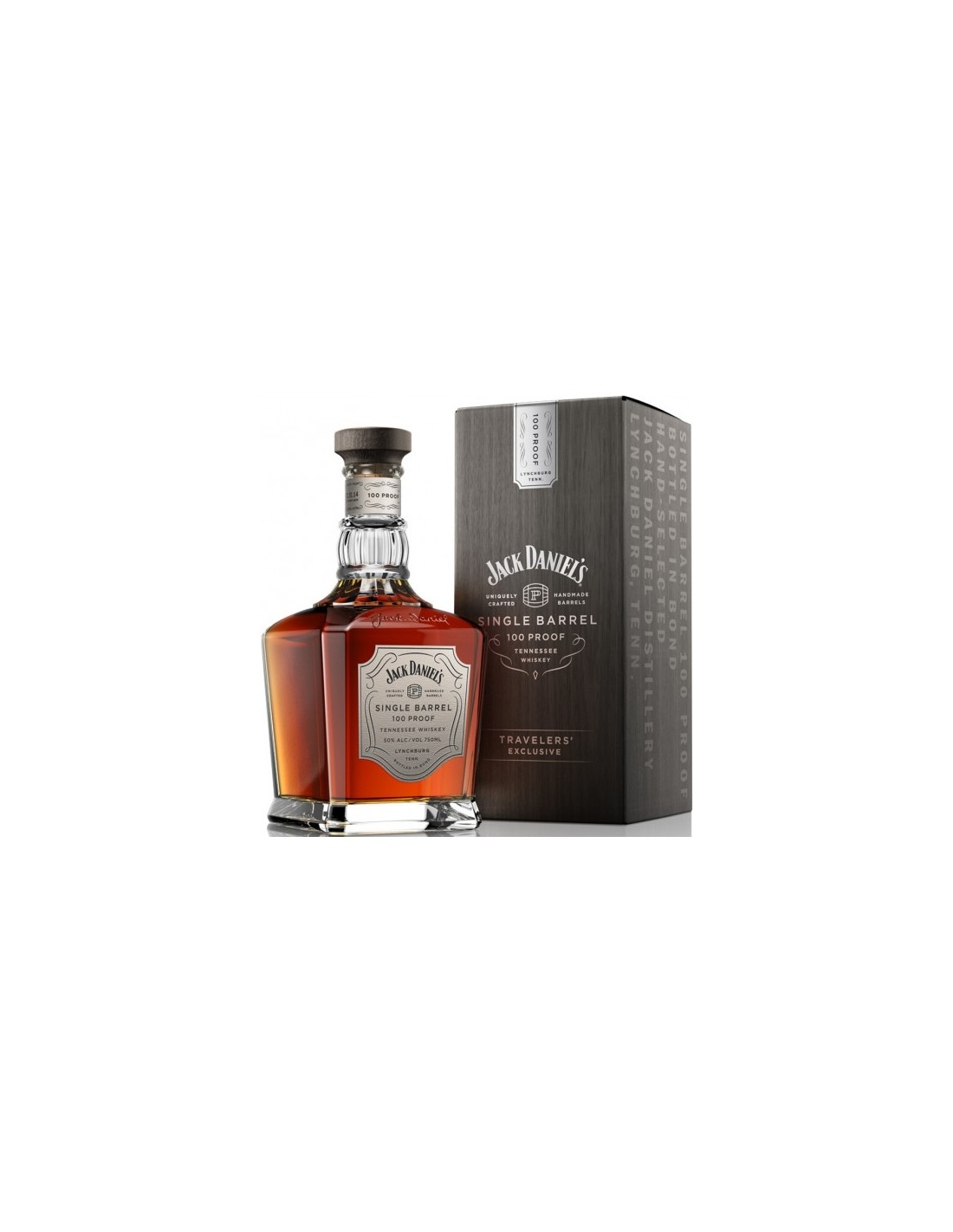 Whisky Bourbon Jack Daniel's Single Barrel 100 Proof, 50% alc., 0.7L, America