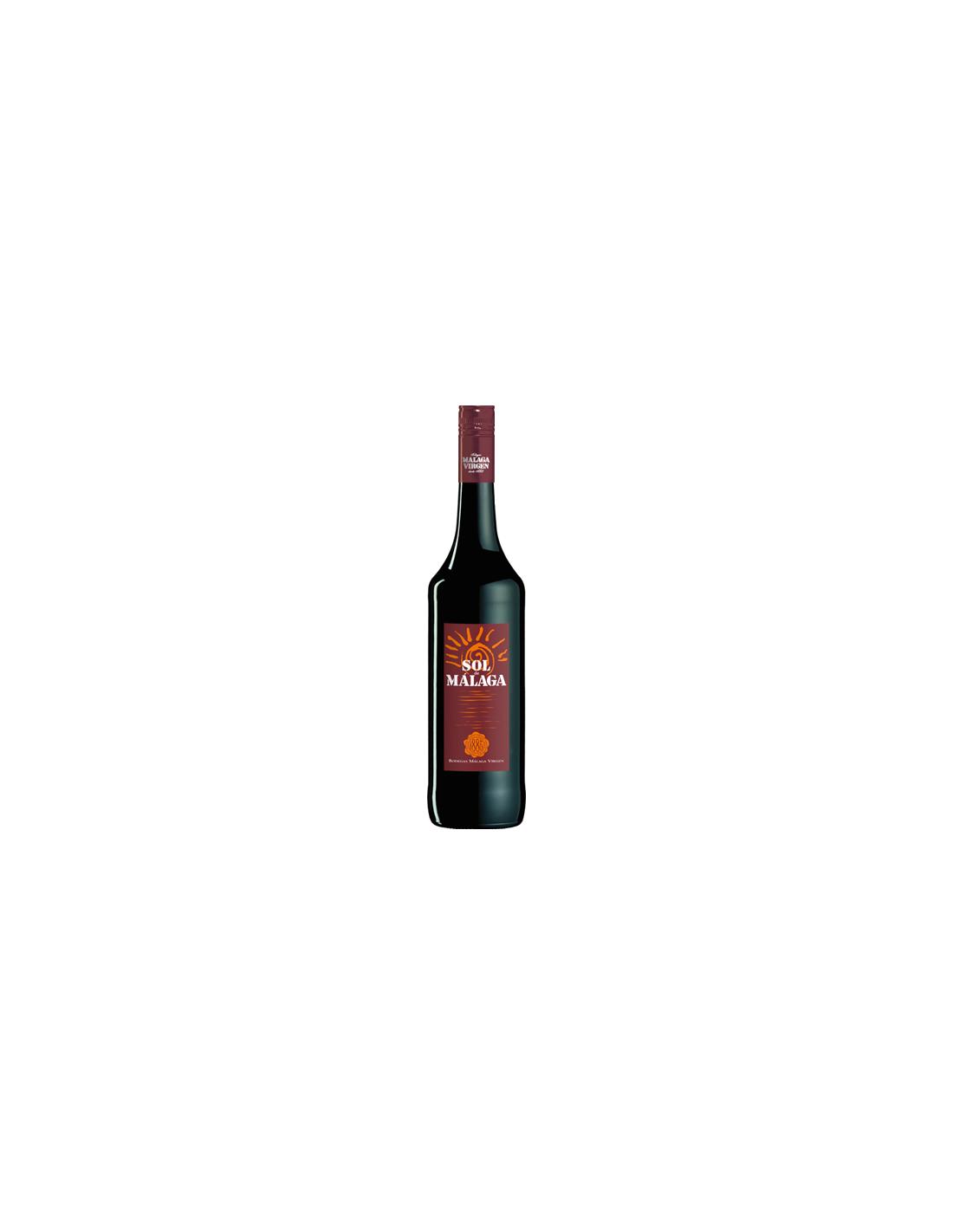 Vin rosu dulce, Sol De Malaga, 15% alc., 0.75L, Spania