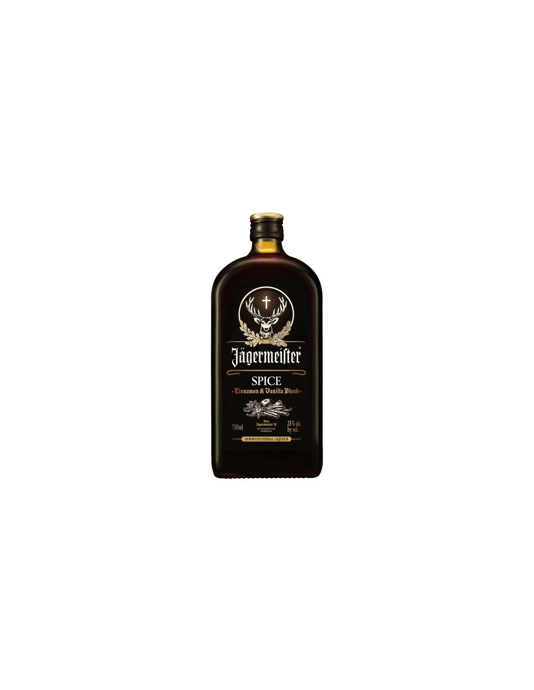 Lichior digestiv Jagermeister Spice, 25% alc., 0.7L, Germania