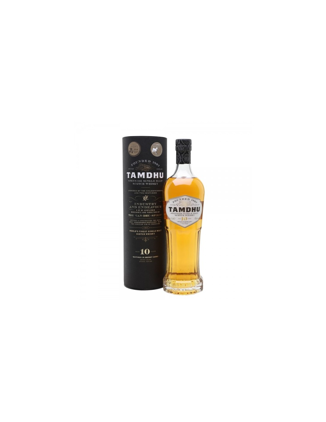 Whisky Single Malt Tamdhu, 10 ani, 40% alc., 0.7L, Scotia