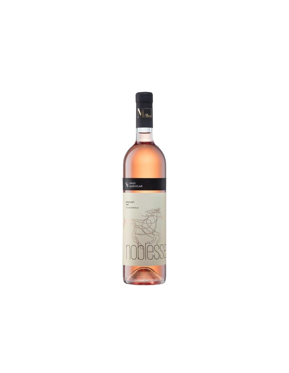 Vin roze sec, Pinot Noir, Noblesse Murfatlar, 0.75L, 13% alc., Romania