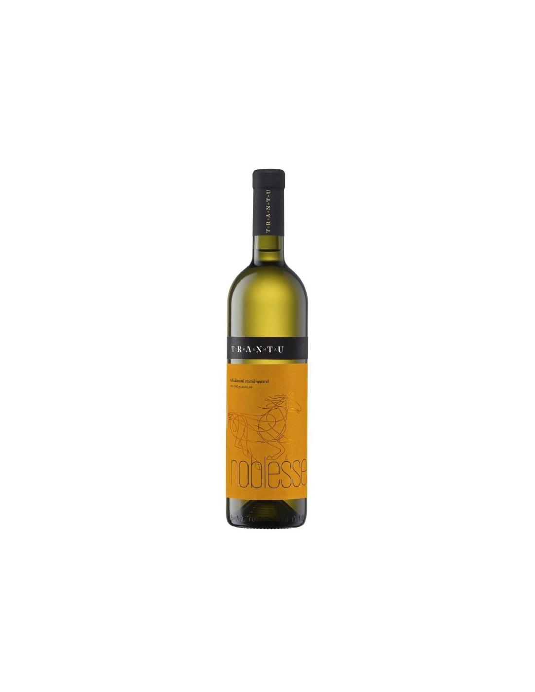 Vin alb demisec, Tamaioasa Romaneasca, Noblesse Murfatlar, 0.75L, 13.5% alc., Romania