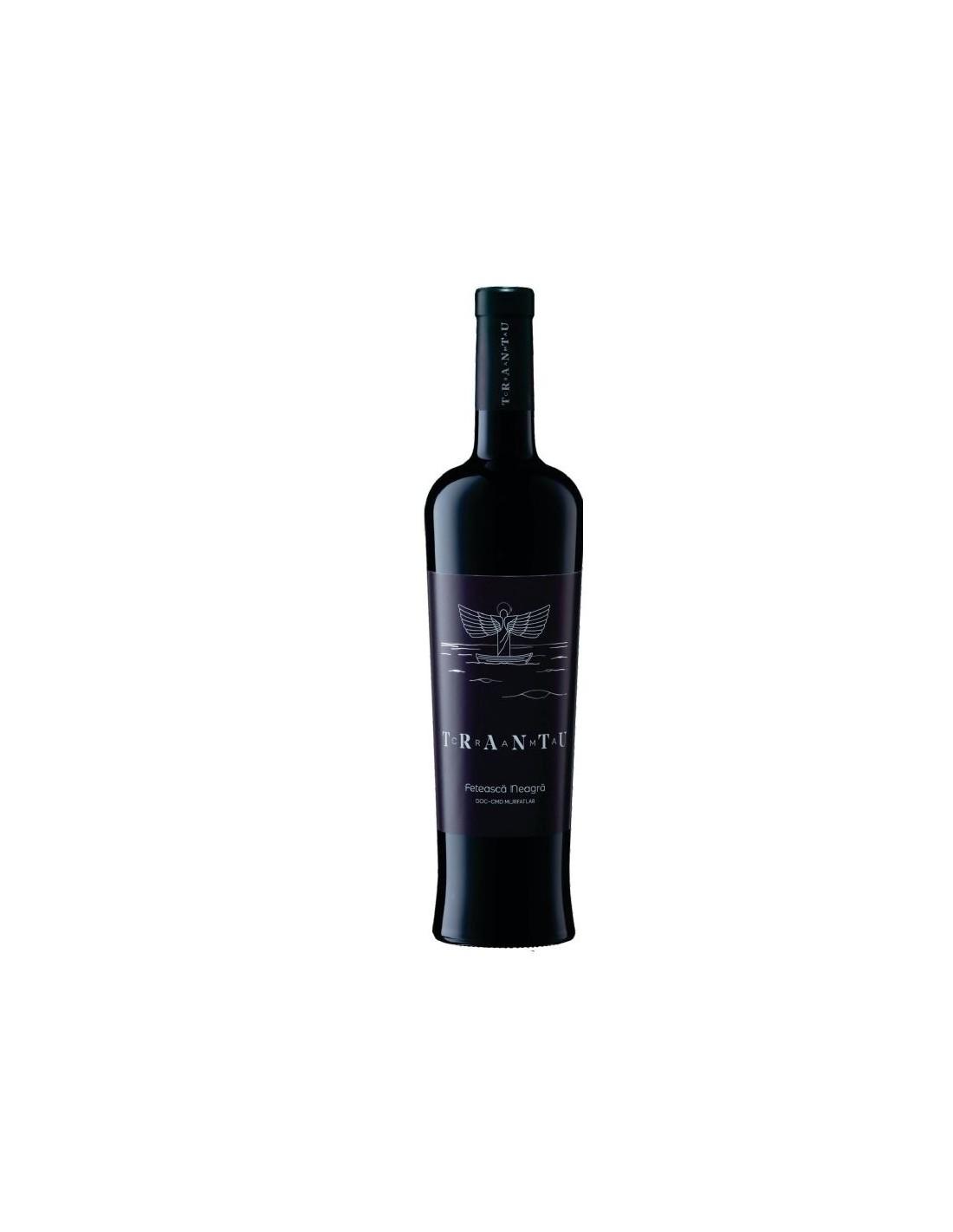 Vin rosu, Feteasca Neagra, Crama Trantu Murfatlar, 0.75L, 14% alc., Romania