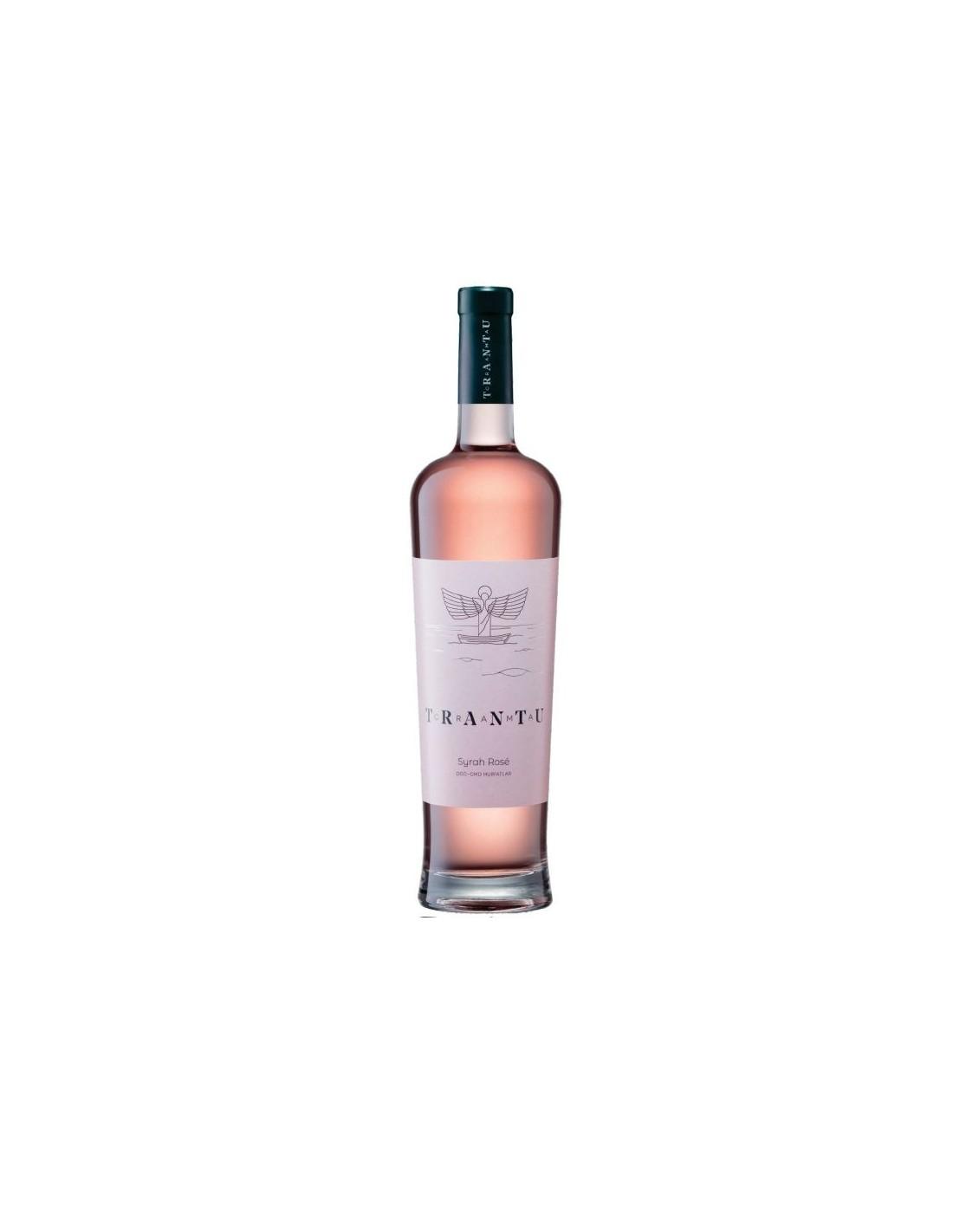 Vin roze sec, Syrah Magnum, Crama Trantu Murfatlar, 1.5L, 13% alc., Romania